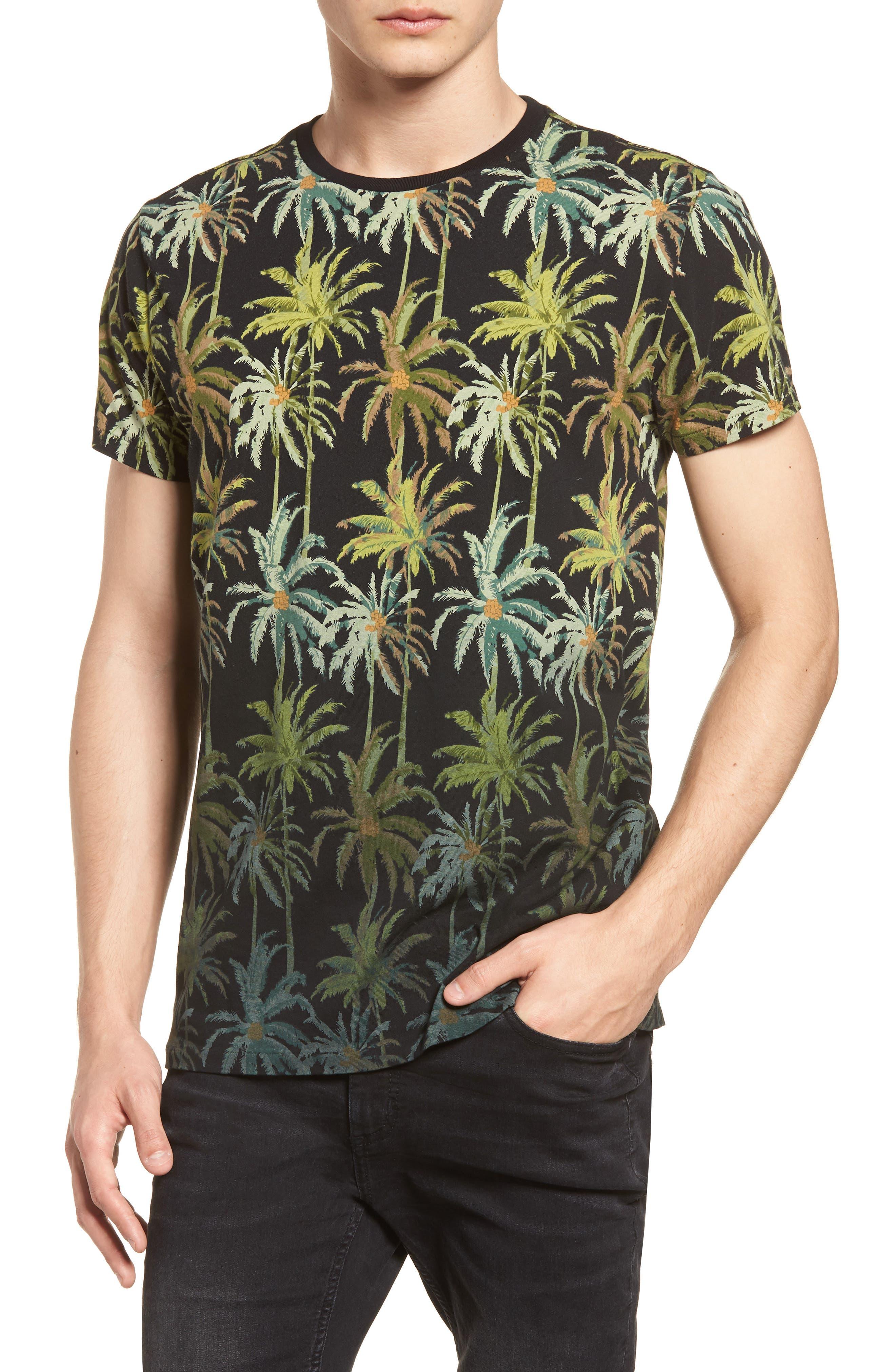 The Poolside Print T-Shirt,                         Main,                         color, COMBO B