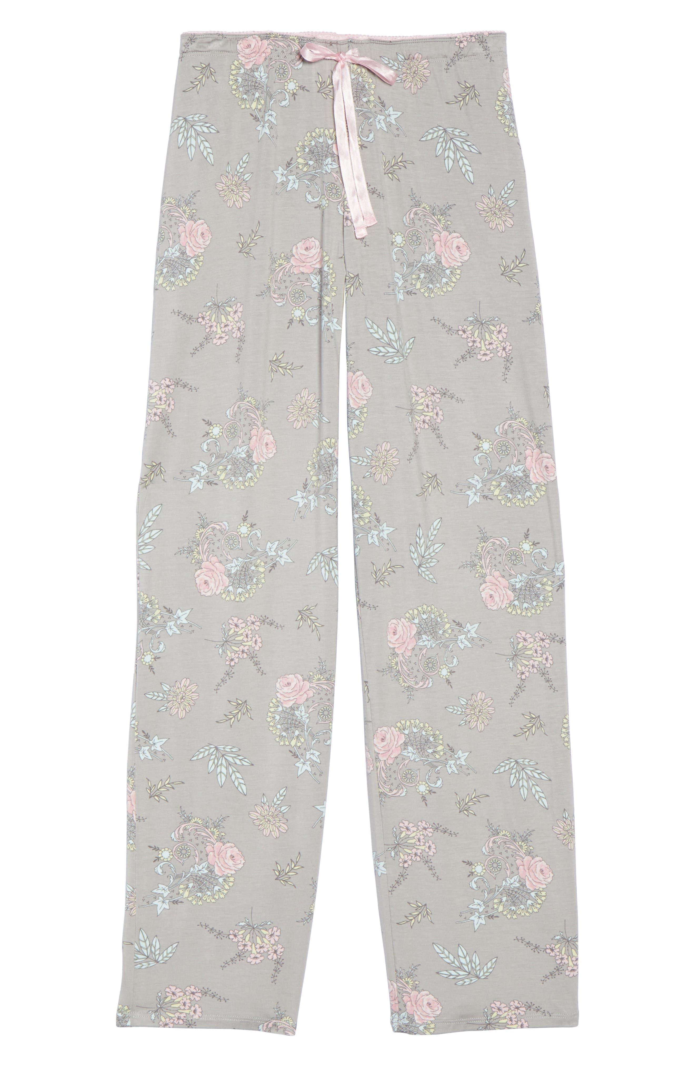 Drawstring Pajama Pants,                             Alternate thumbnail 6, color,                             020