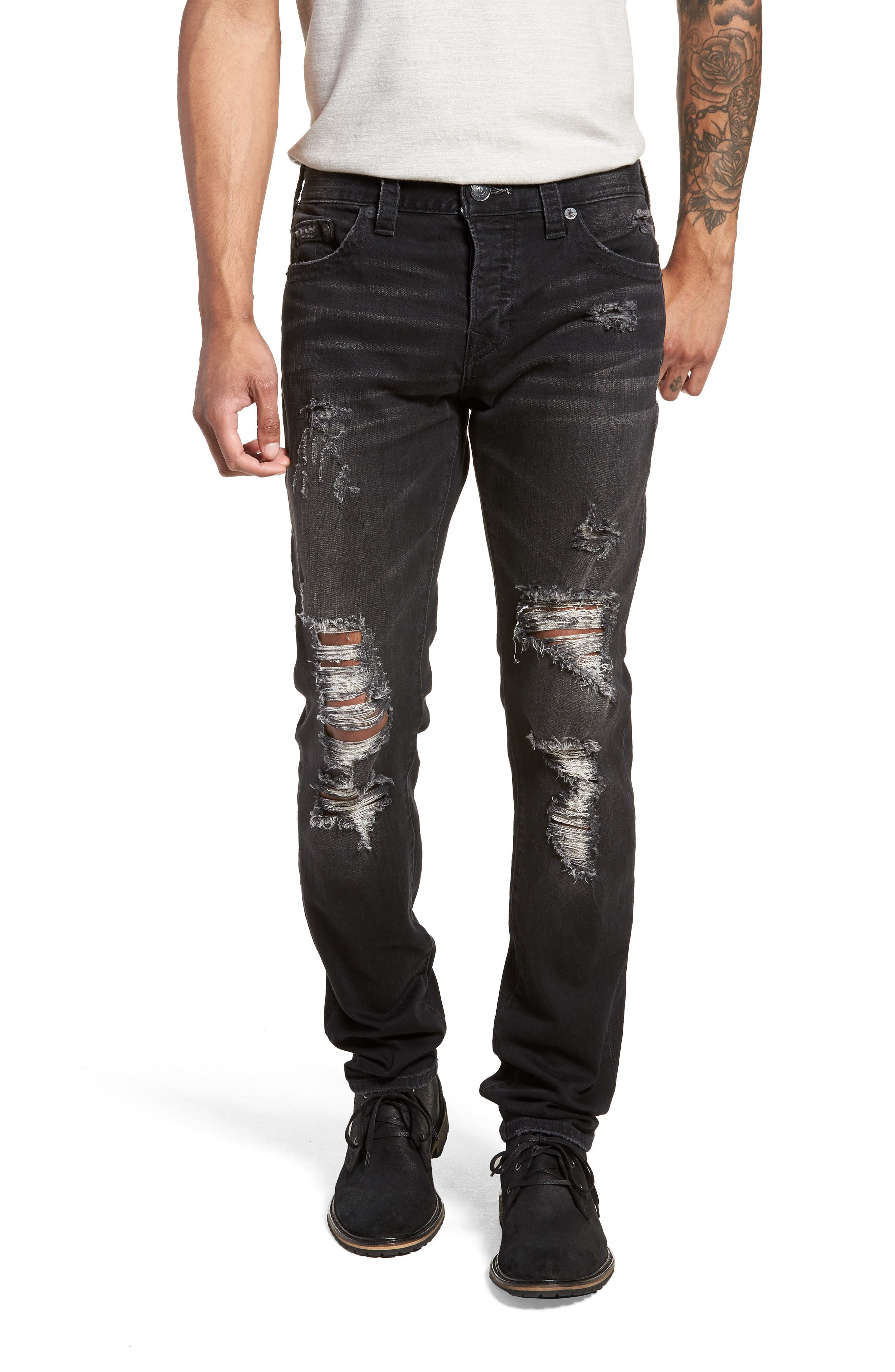 Rocco Skinny Fit Jeans,                             Main thumbnail 1, color,                             EQYD DARK STREET