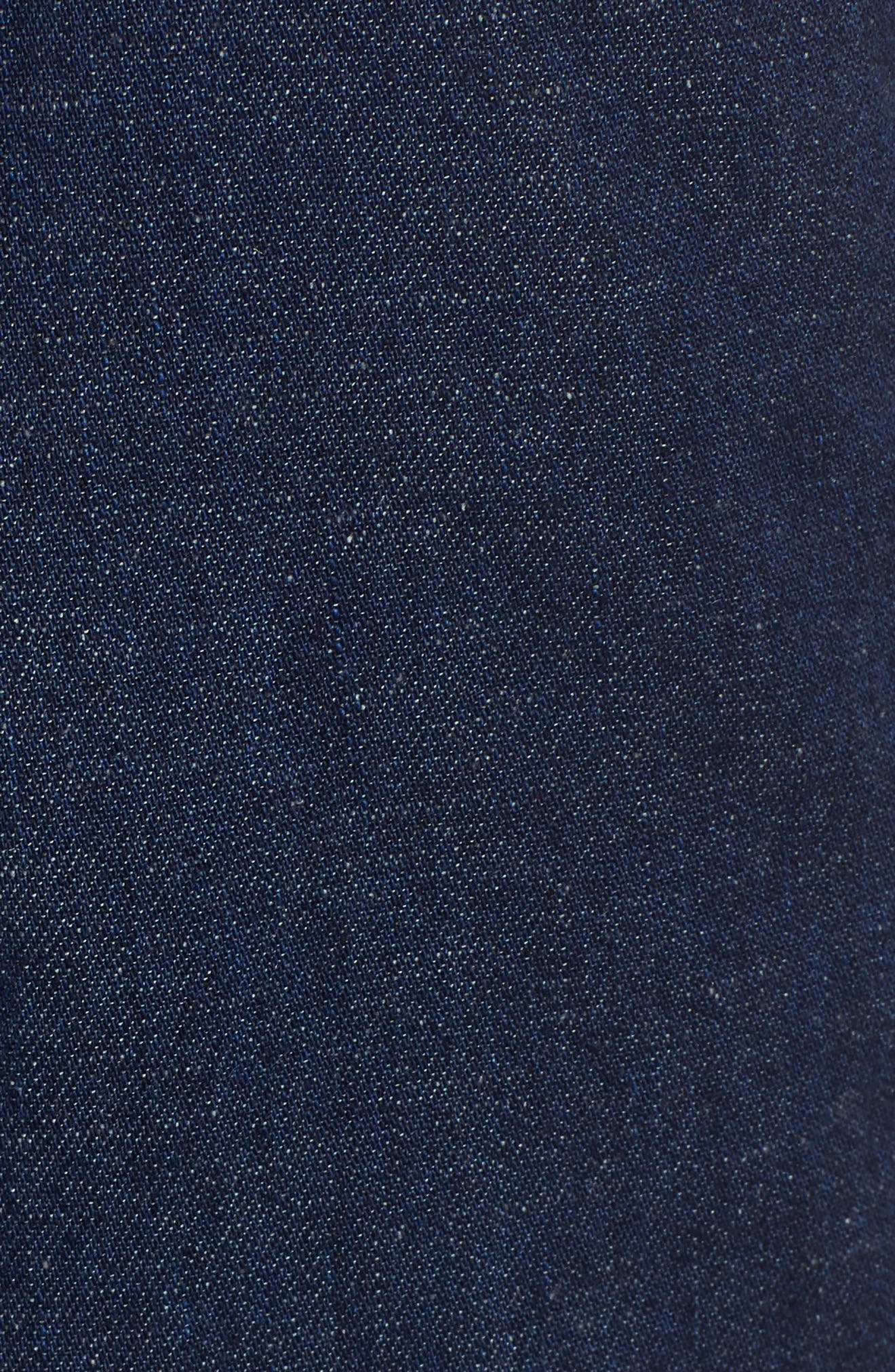 Etta High Waist Crop Wide Leg Jeans,                             Alternate thumbnail 5, color,                             496