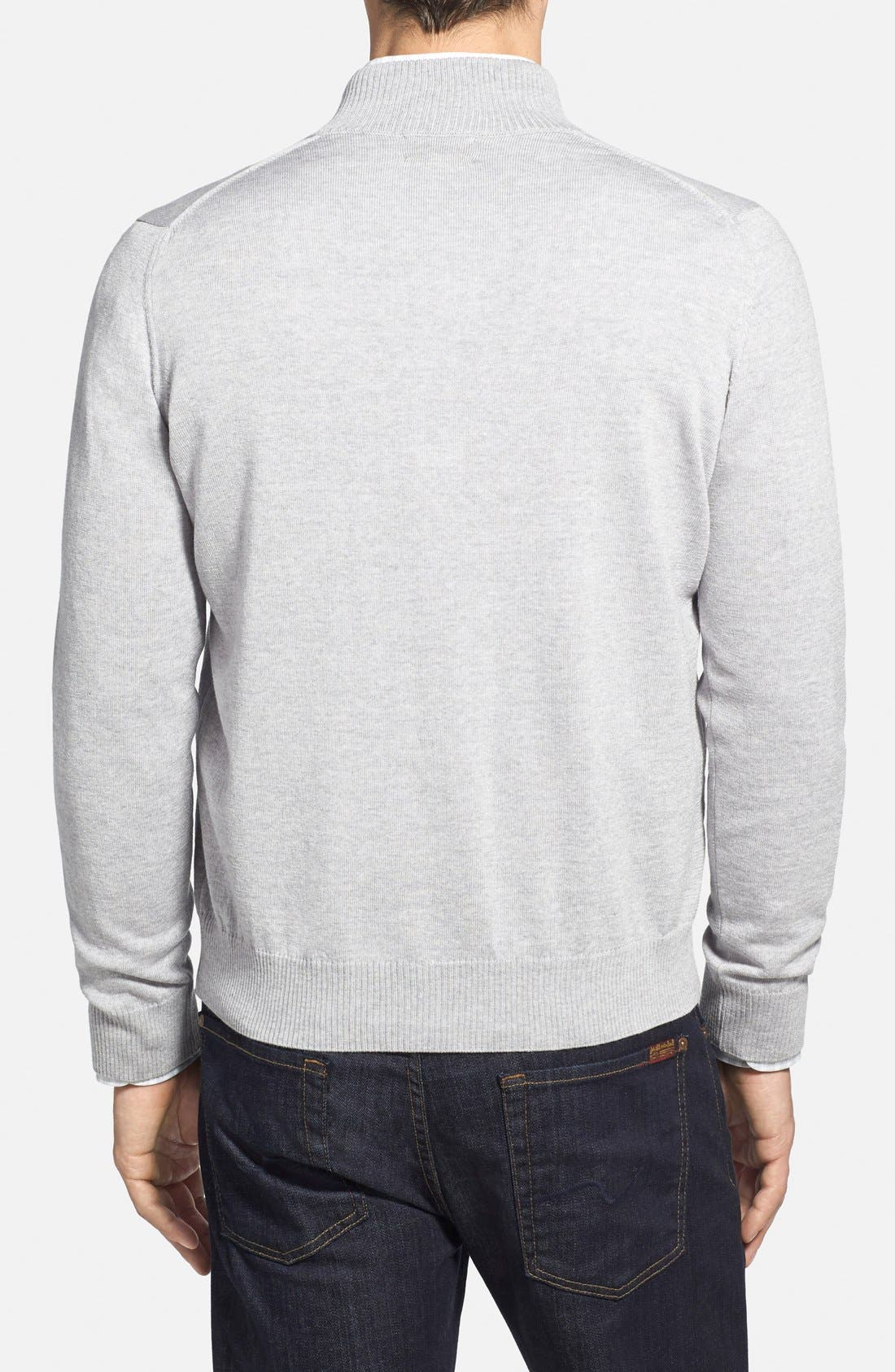 Italian Merino Wool Cardigan Sweater,                             Alternate thumbnail 2, color,                             050