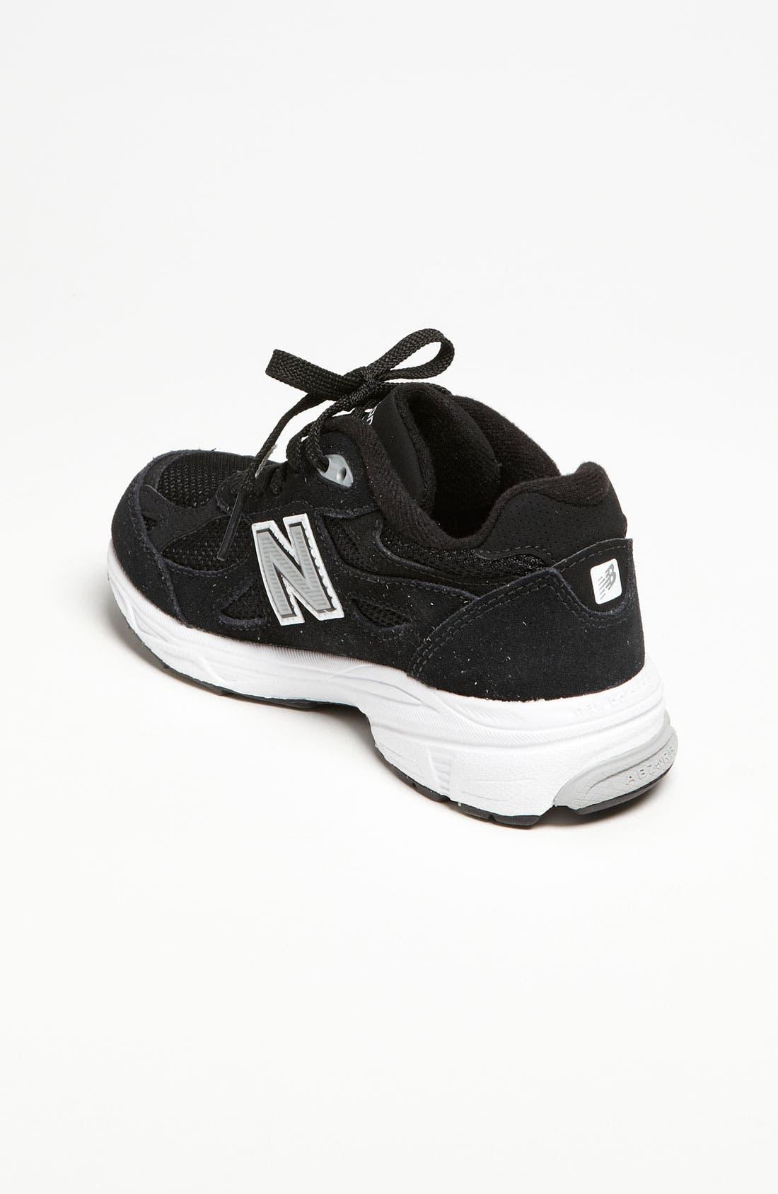 '990' Sneaker,                             Alternate thumbnail 4, color,                             001