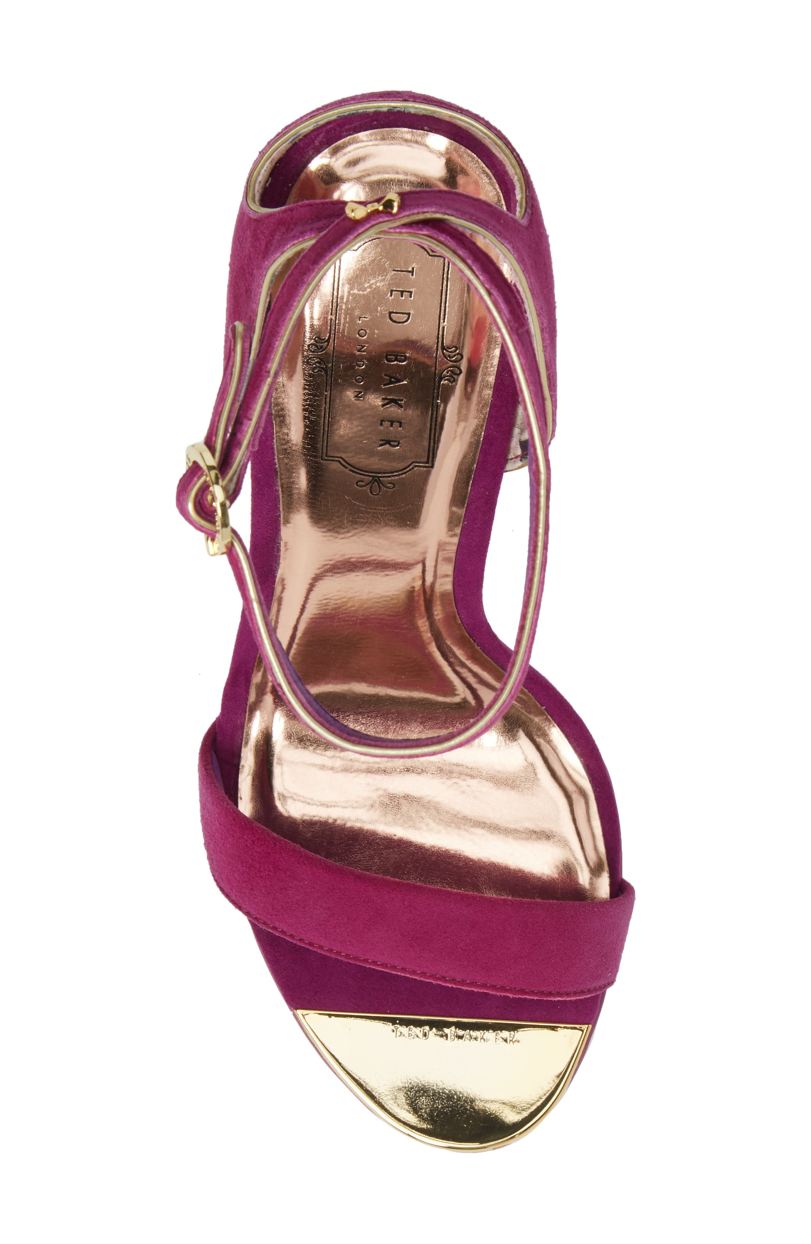 Mirobell Ankle Strap Sandal,                             Alternate thumbnail 15, color,