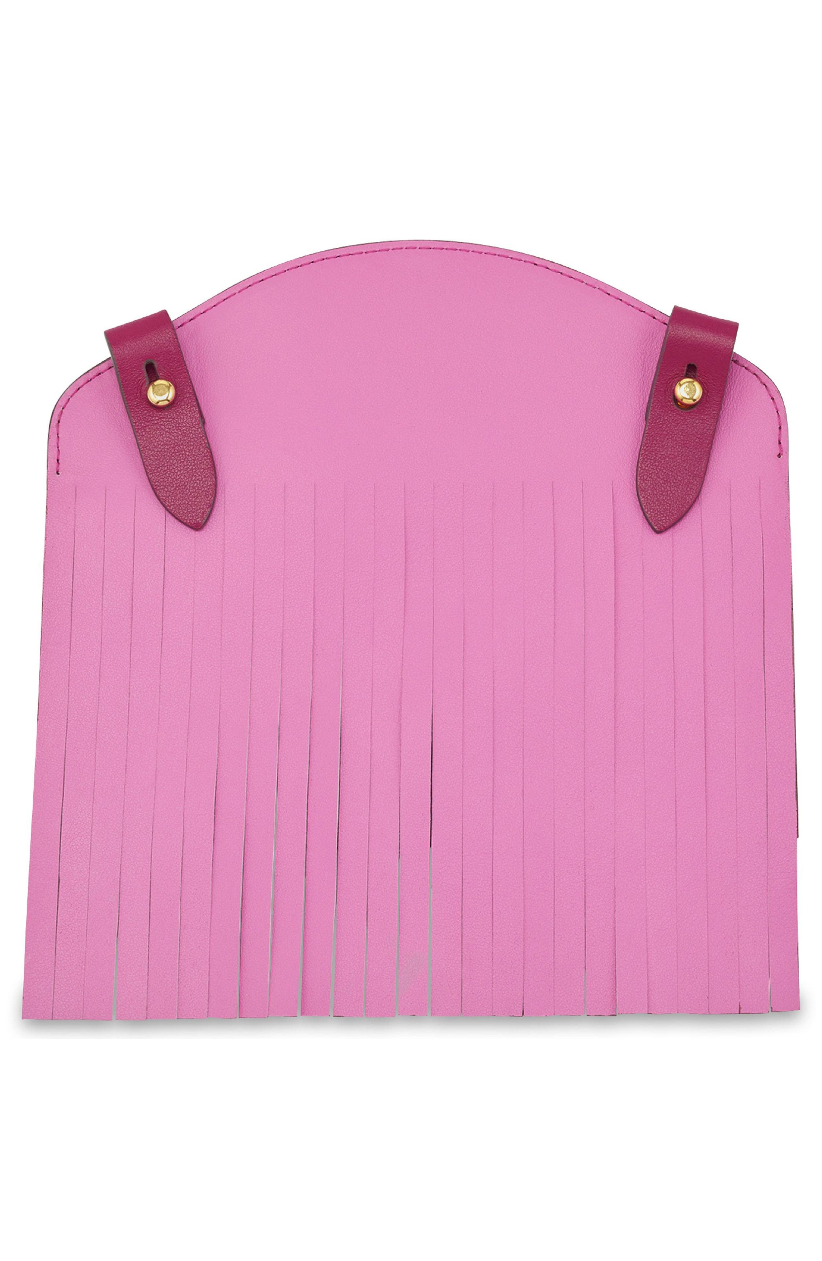 Build a Bag Fringe Leather Panels,                             Alternate thumbnail 5, color,