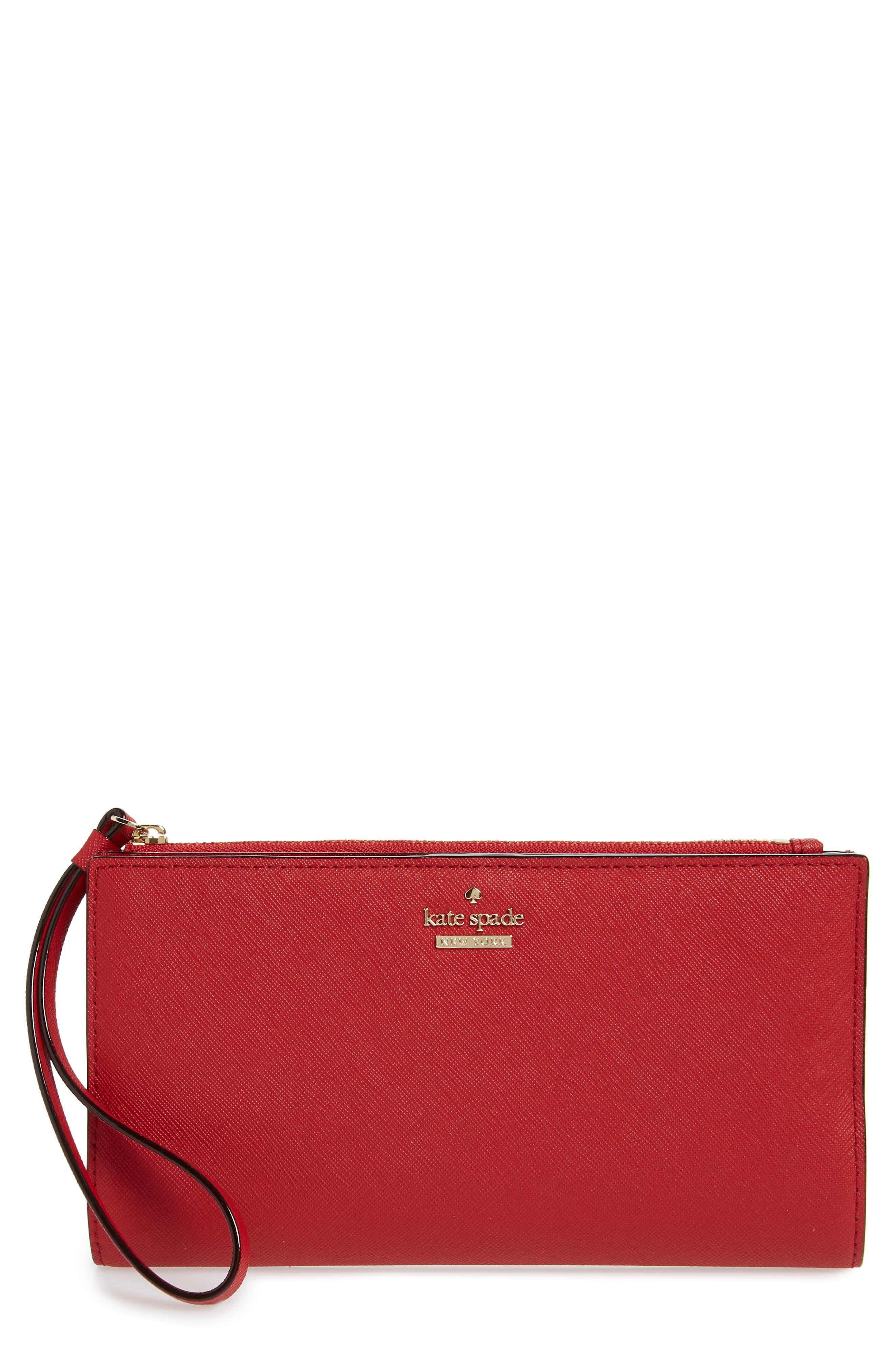 cameron street - eliza leather wallet,                             Main thumbnail 1, color,                             602