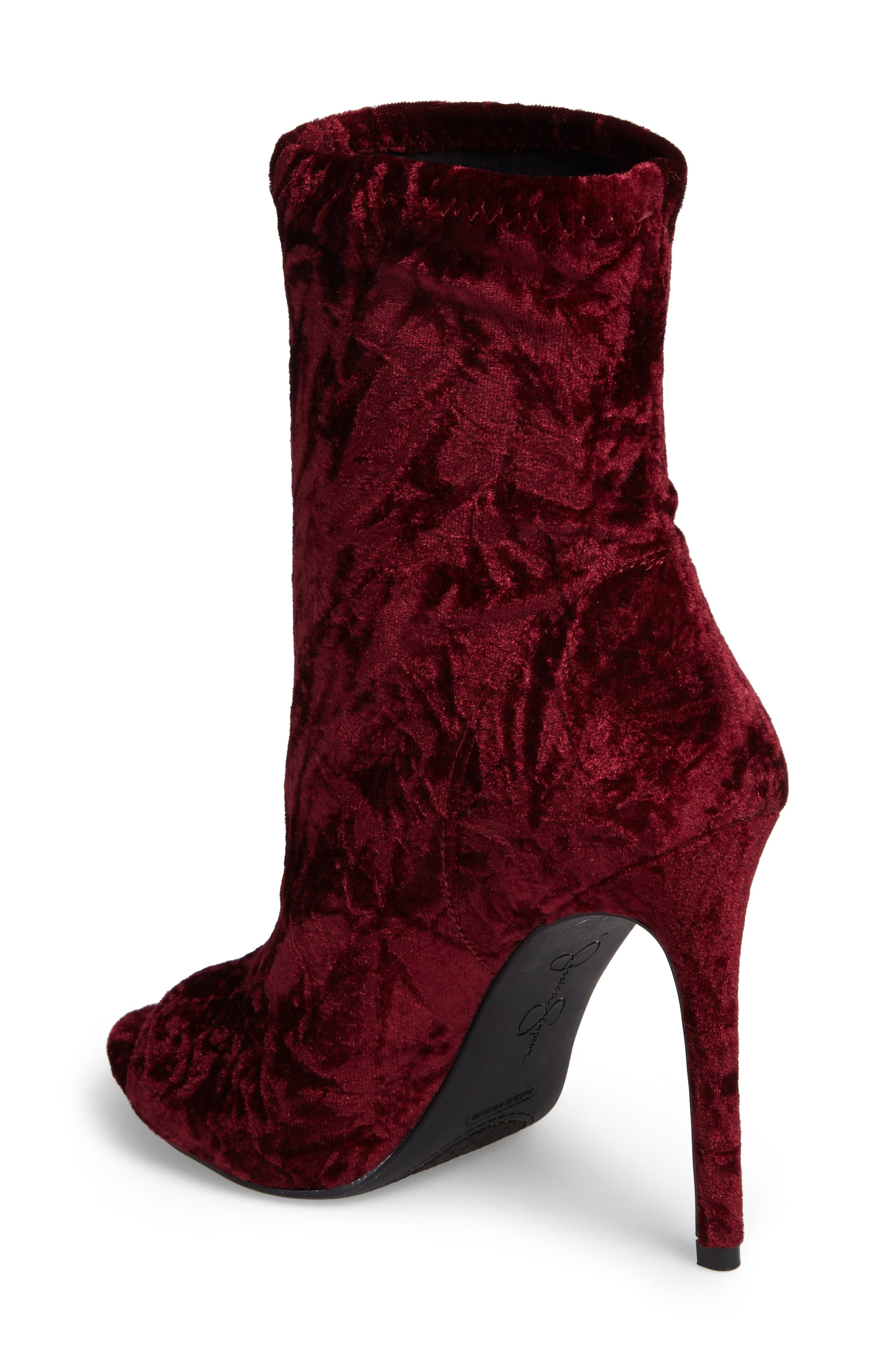 Rainer Peep Toe Bootie,                             Alternate thumbnail 6, color,