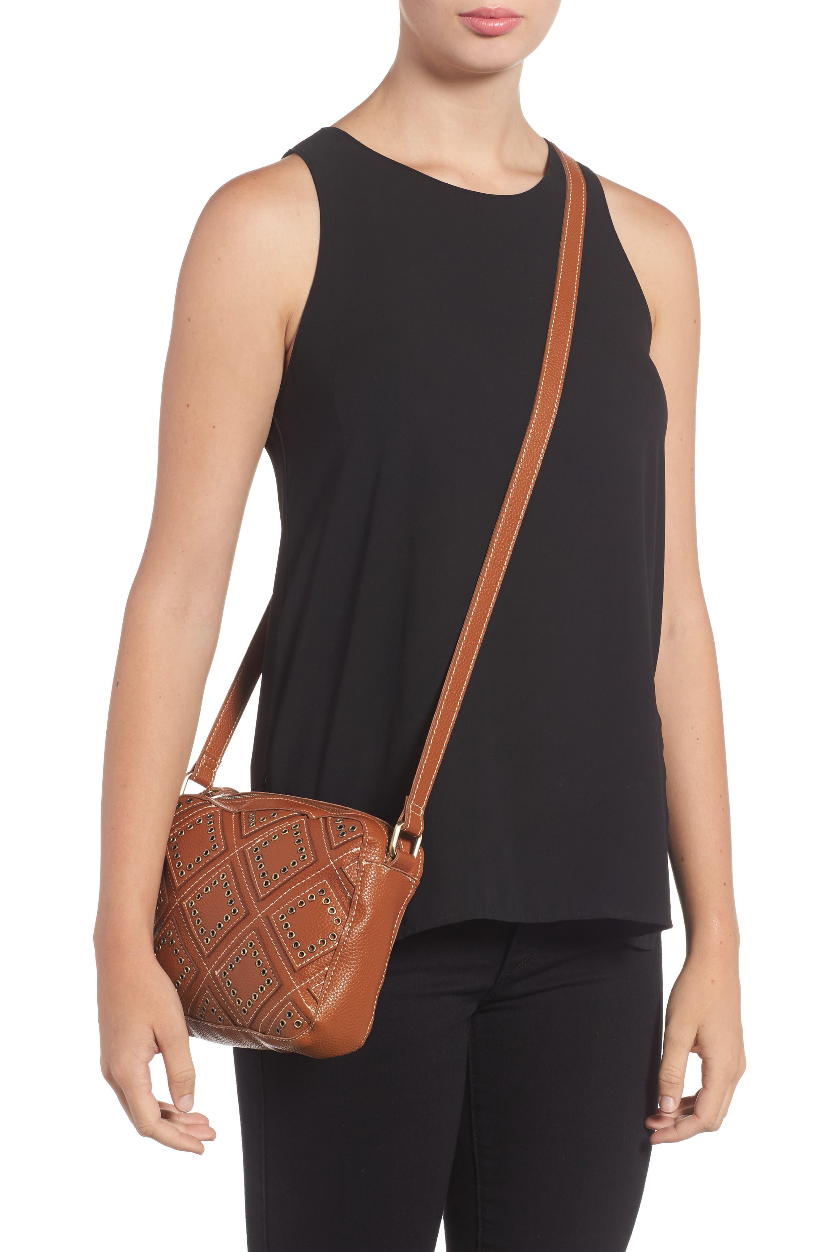 Skylar Faux Leather Crossbody Bag,                             Alternate thumbnail 2, color,