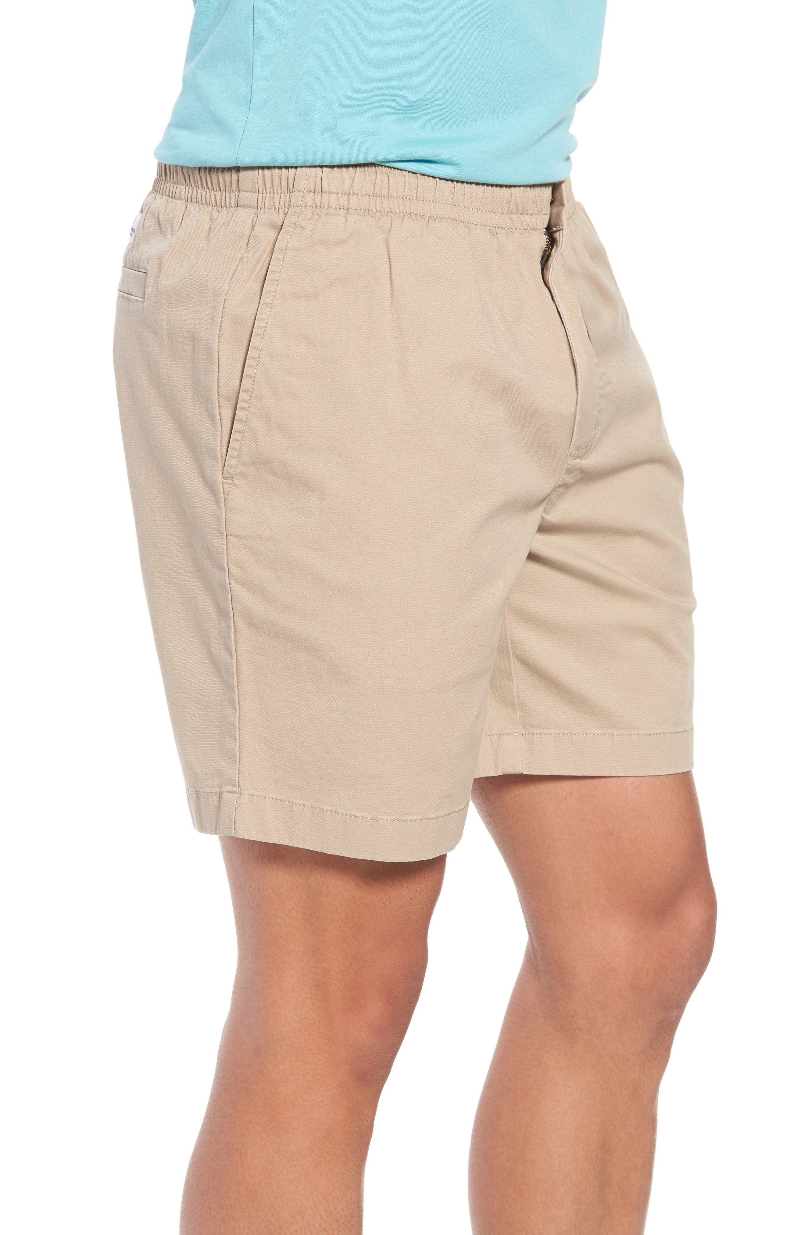 Jetty Stretch Cotton Shorts,                             Alternate thumbnail 3, color,                             250