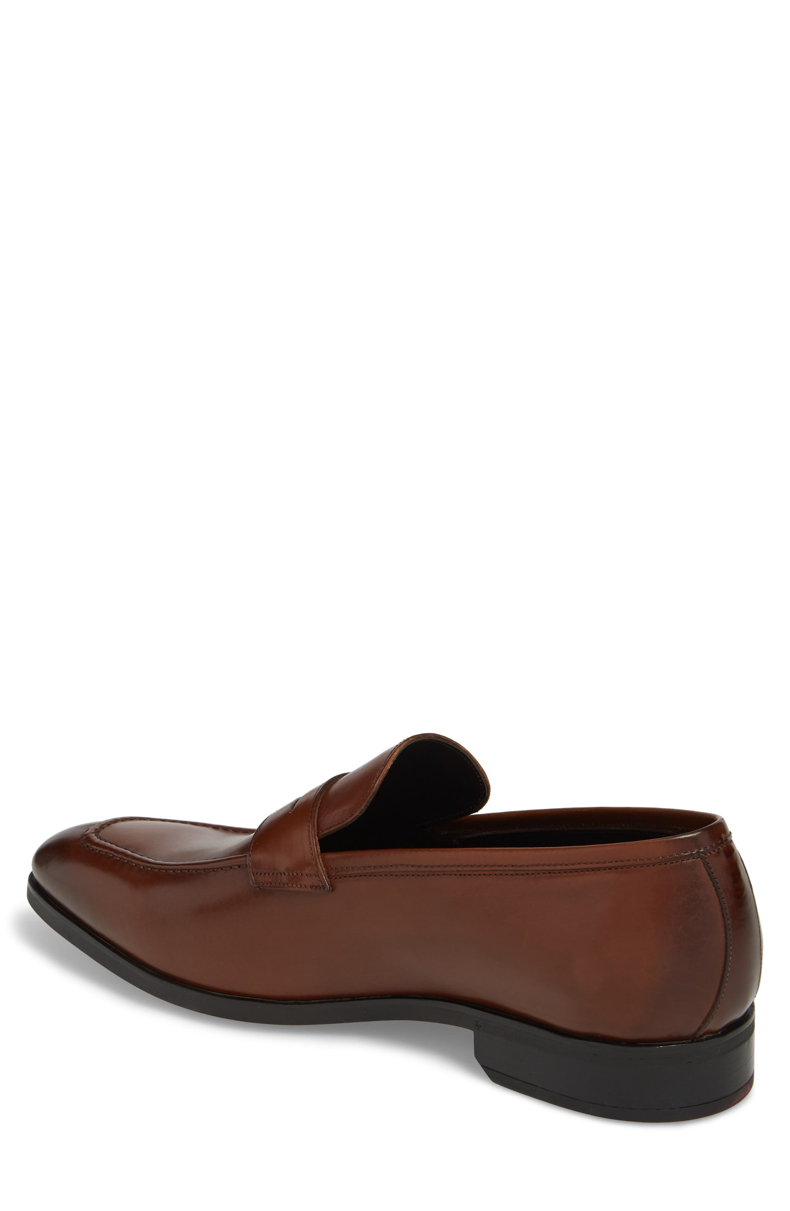 TO BOOT NEW YORK,                             Raleigh Apron Toe Penny Loafer,                             Alternate thumbnail 2, color,                             237