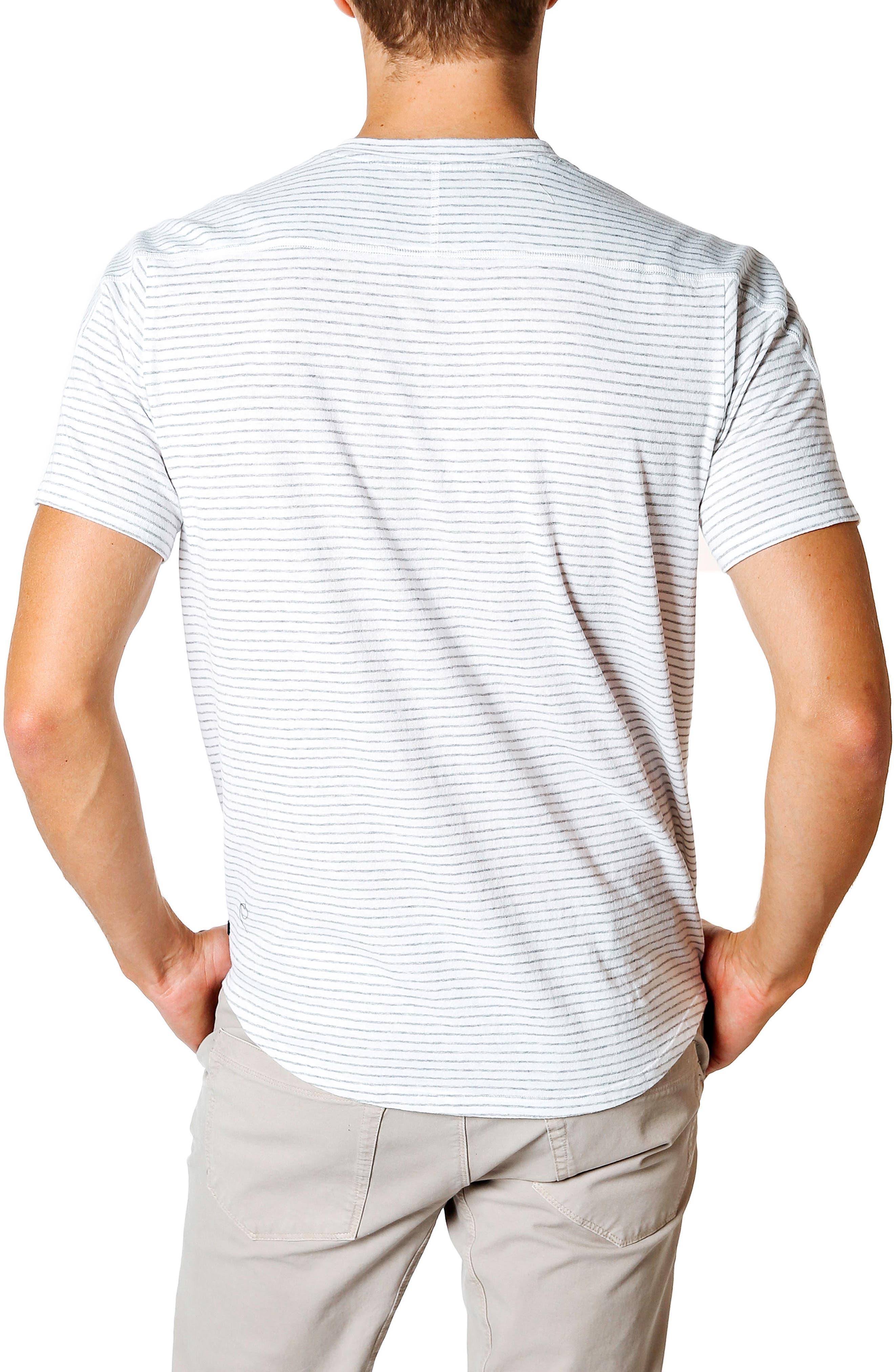 Slim Fit Stripe T-Shirt,                             Alternate thumbnail 2, color,                             102