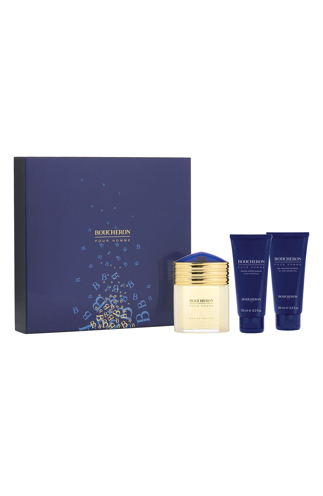 BOUCHERON,                             'pour Homme' Gift Set,                             Alternate thumbnail 2, color,                             000