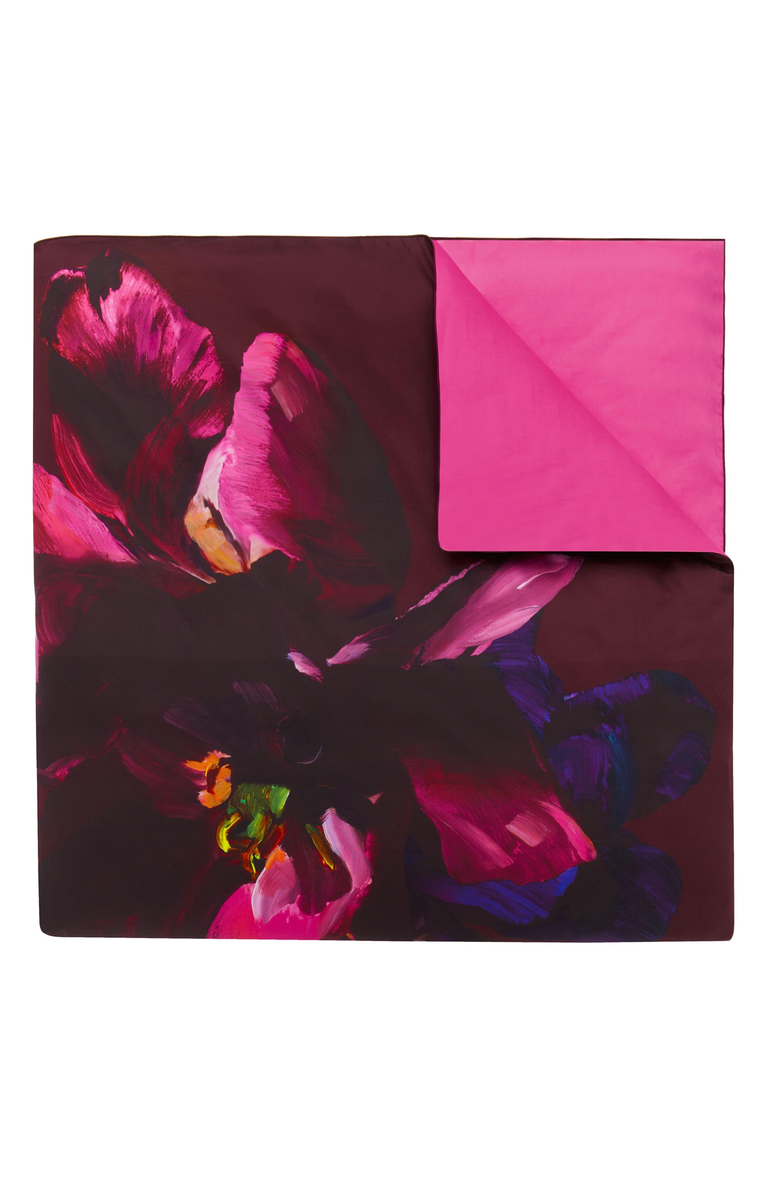 TED BAKER LONDON,                             Impressionist Bloom Comforter & Sham Set,                             Alternate thumbnail 3, color,                             650