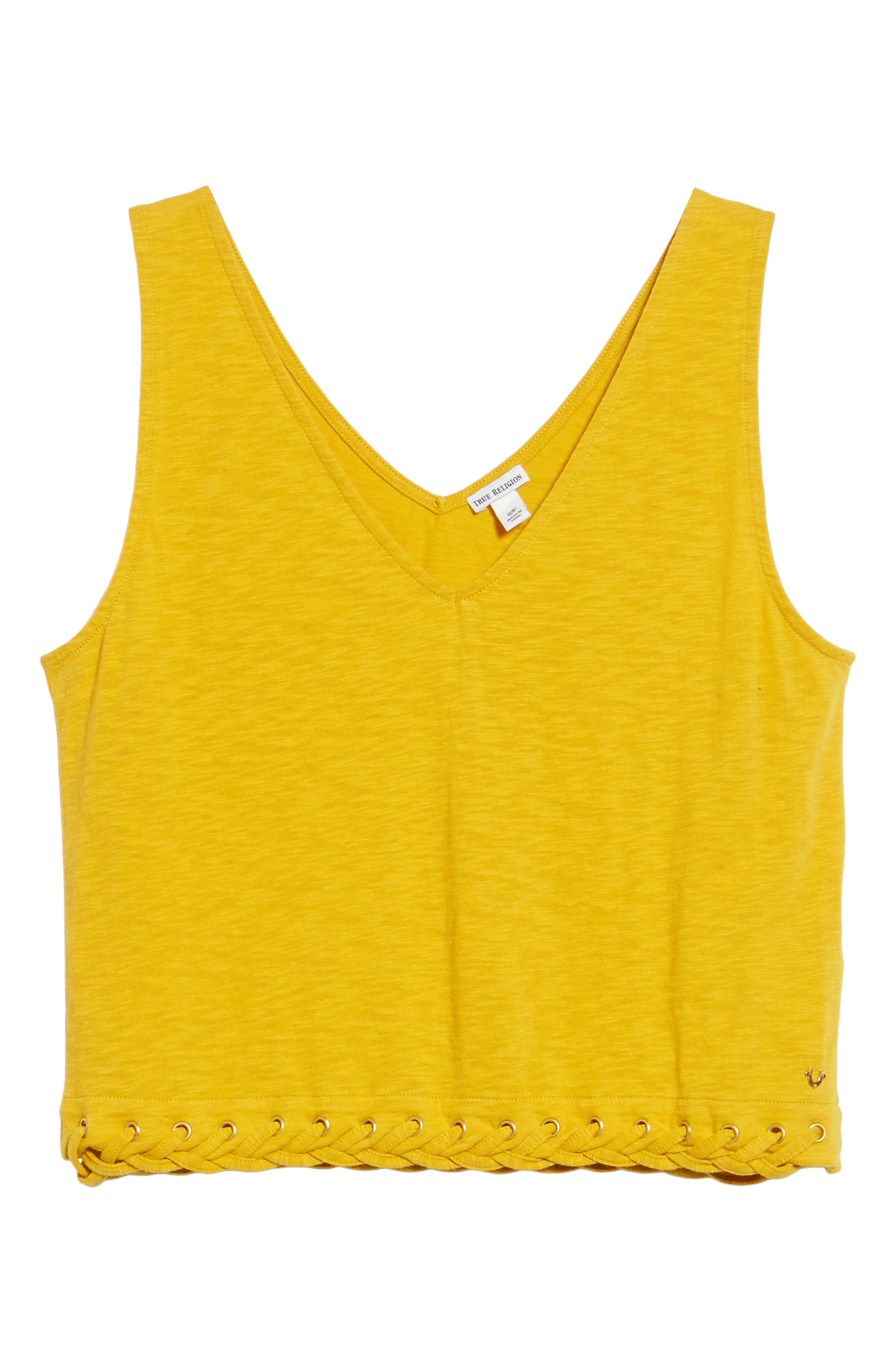 Laced Hem Tank,                             Alternate thumbnail 6, color,                             700