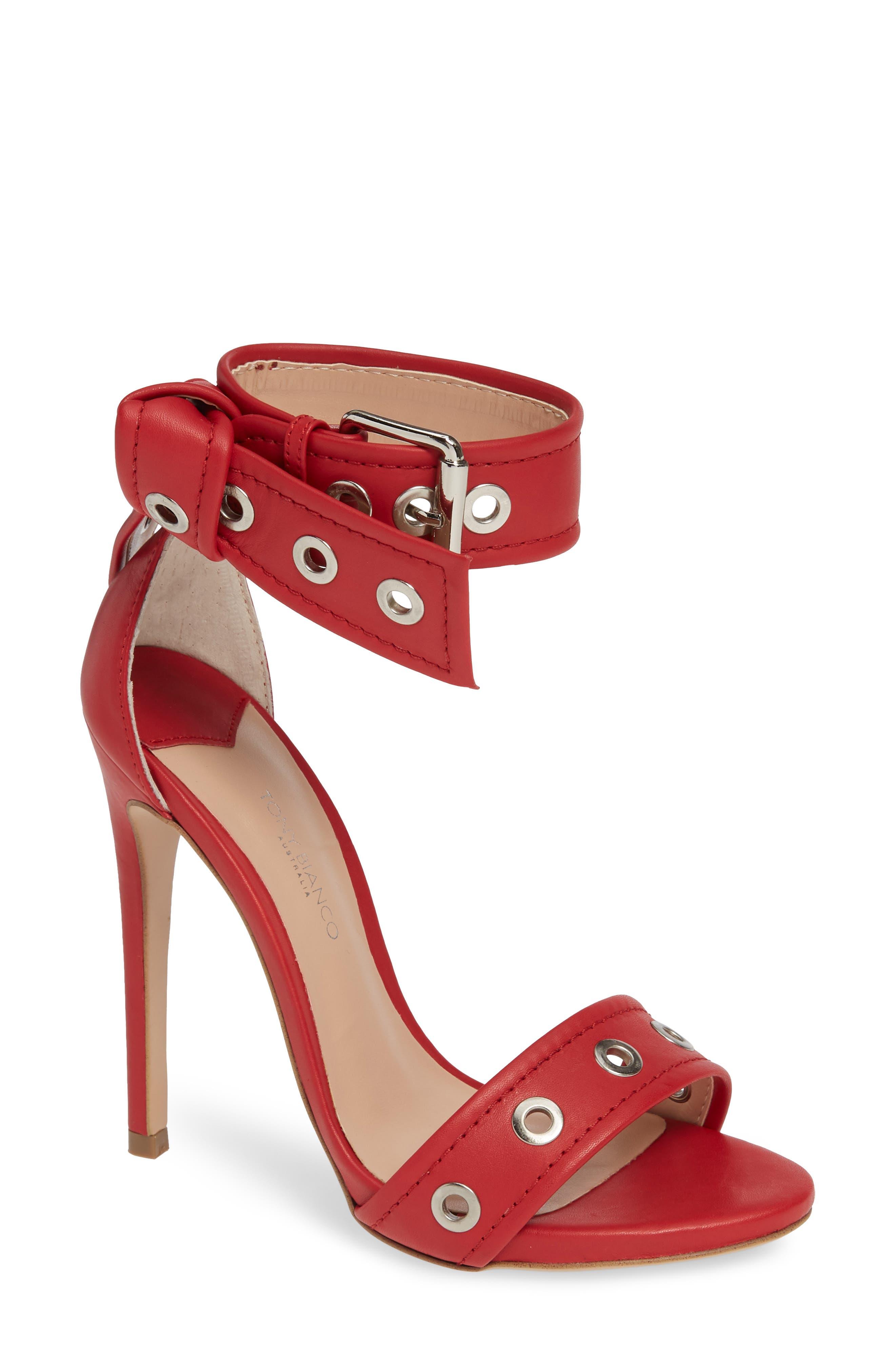 Tony Bianco Acadia Sandal- Red