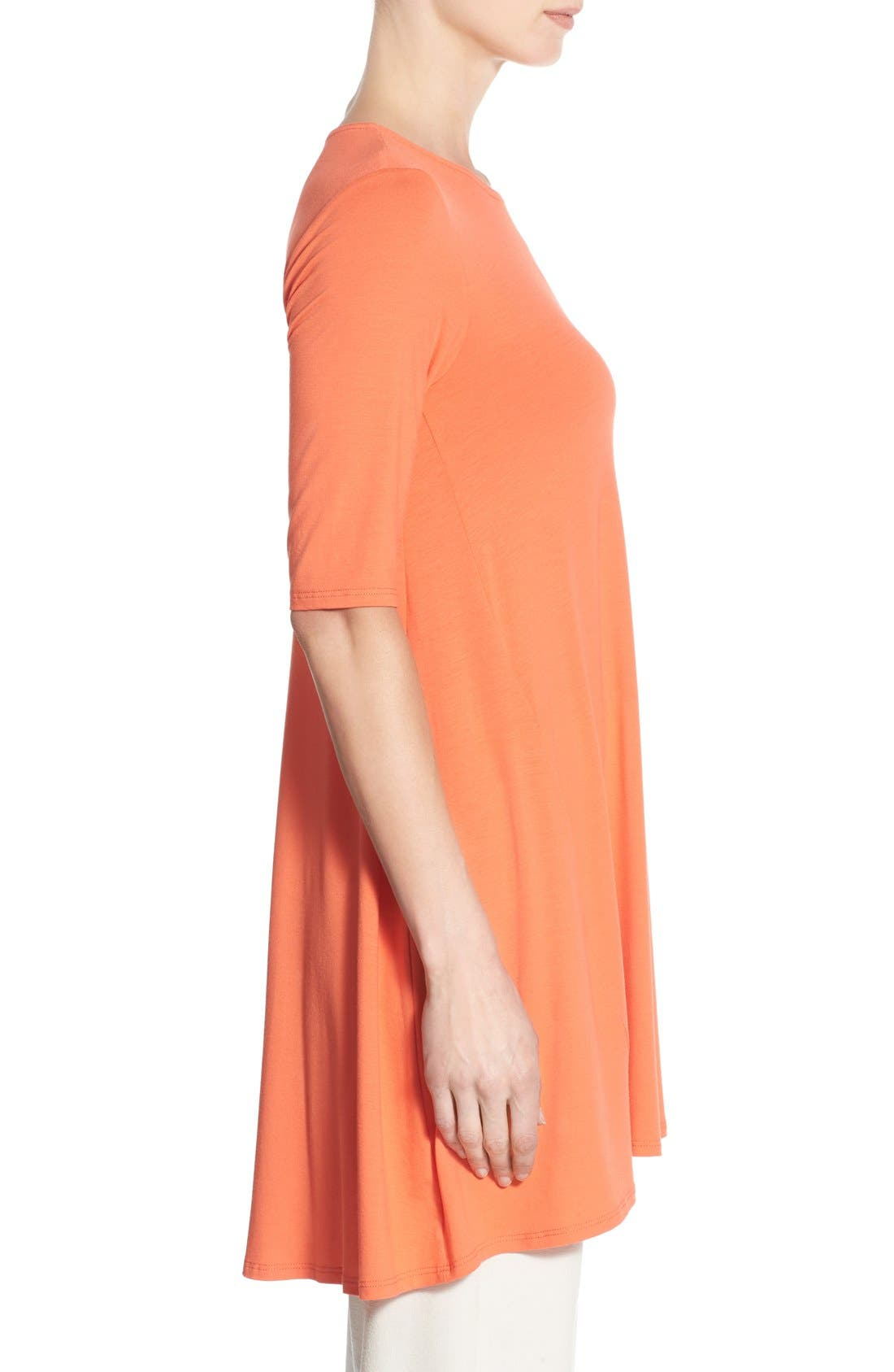 Lightweight Jersey Round Neck Tunic,                             Alternate thumbnail 30, color,