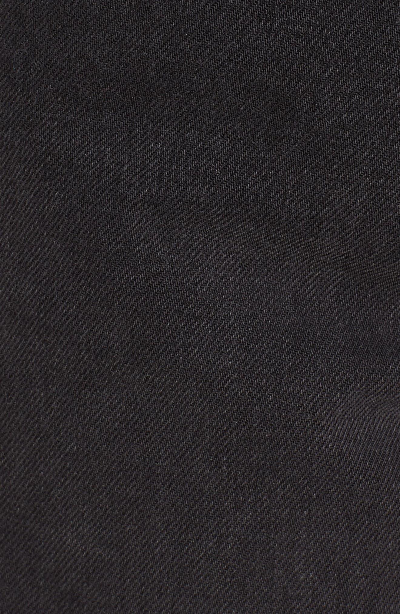 The Ultra High Waist Denim Shorts,                             Alternate thumbnail 6, color,                             006