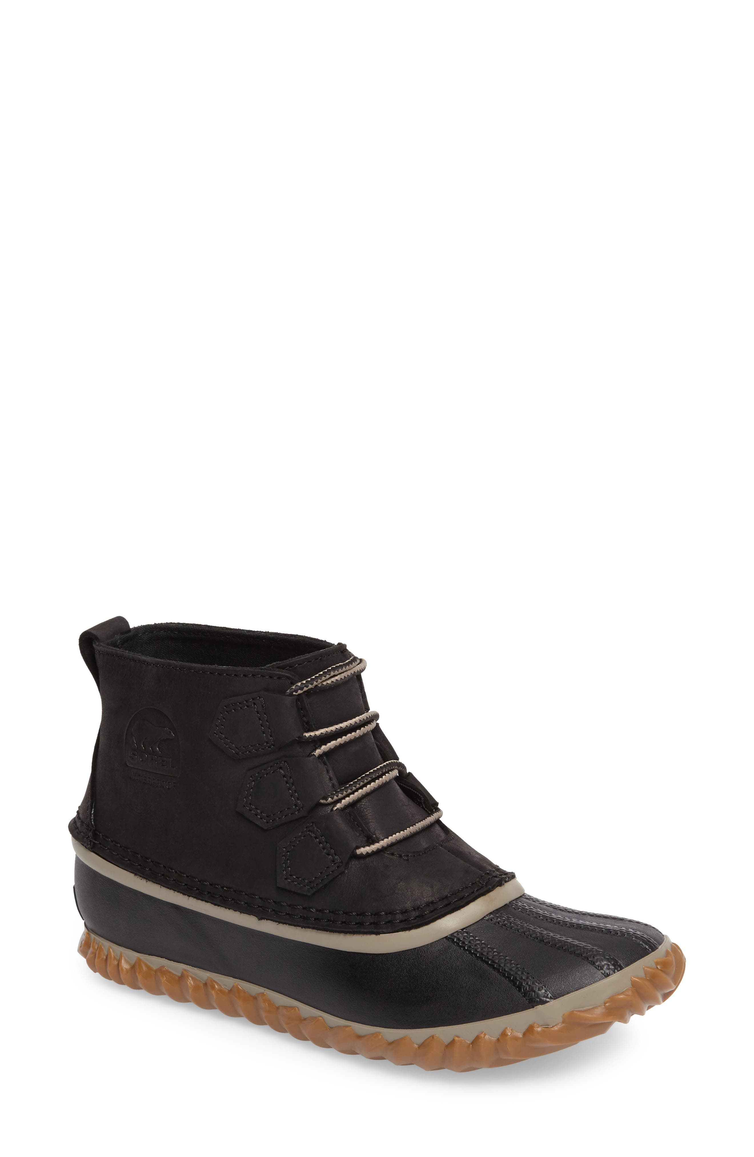 'Out N About' Leather Boot,                             Main thumbnail 6, color,