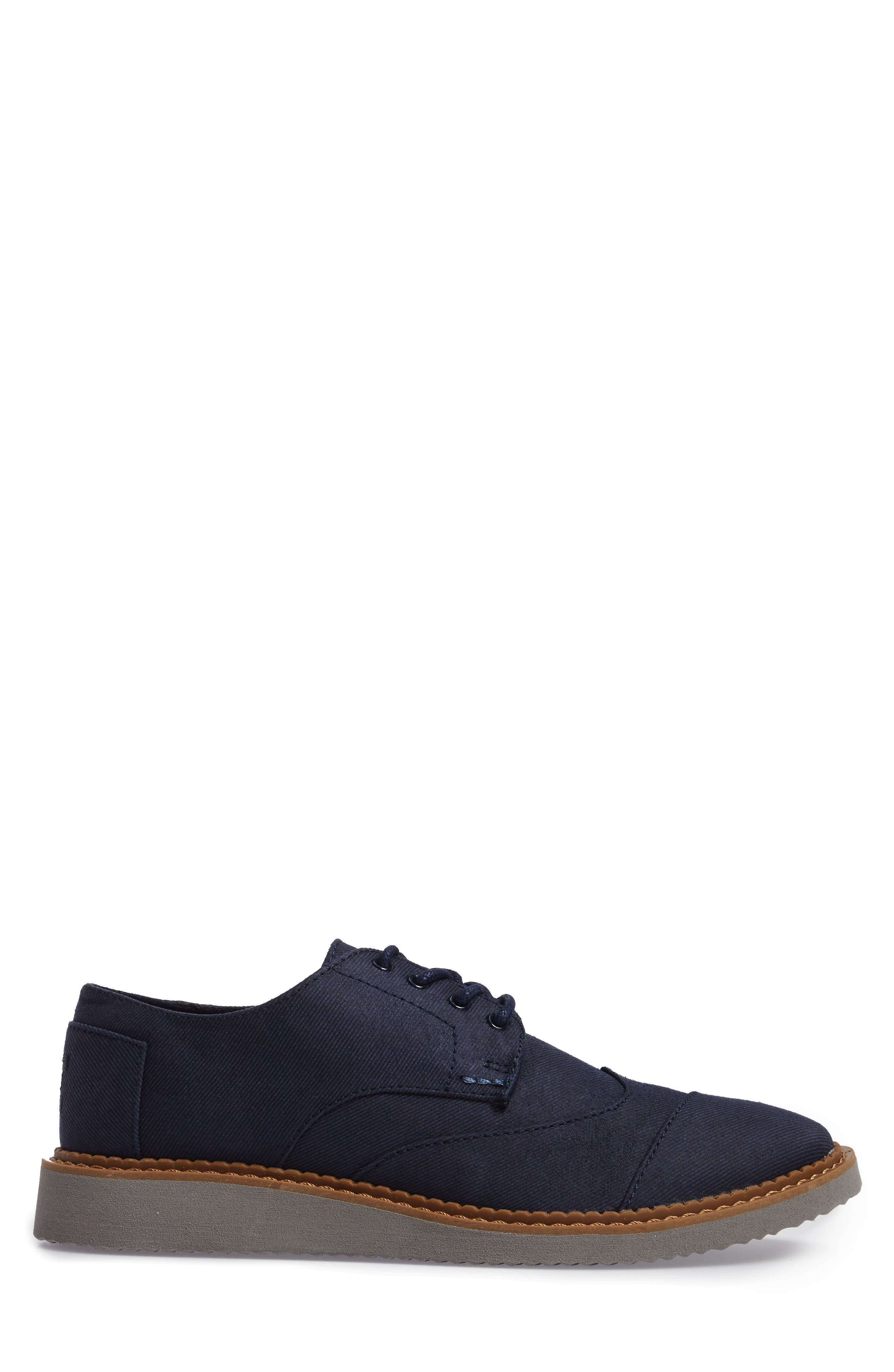 'Classic Brogue' Cotton Twill Derby,                             Alternate thumbnail 44, color,