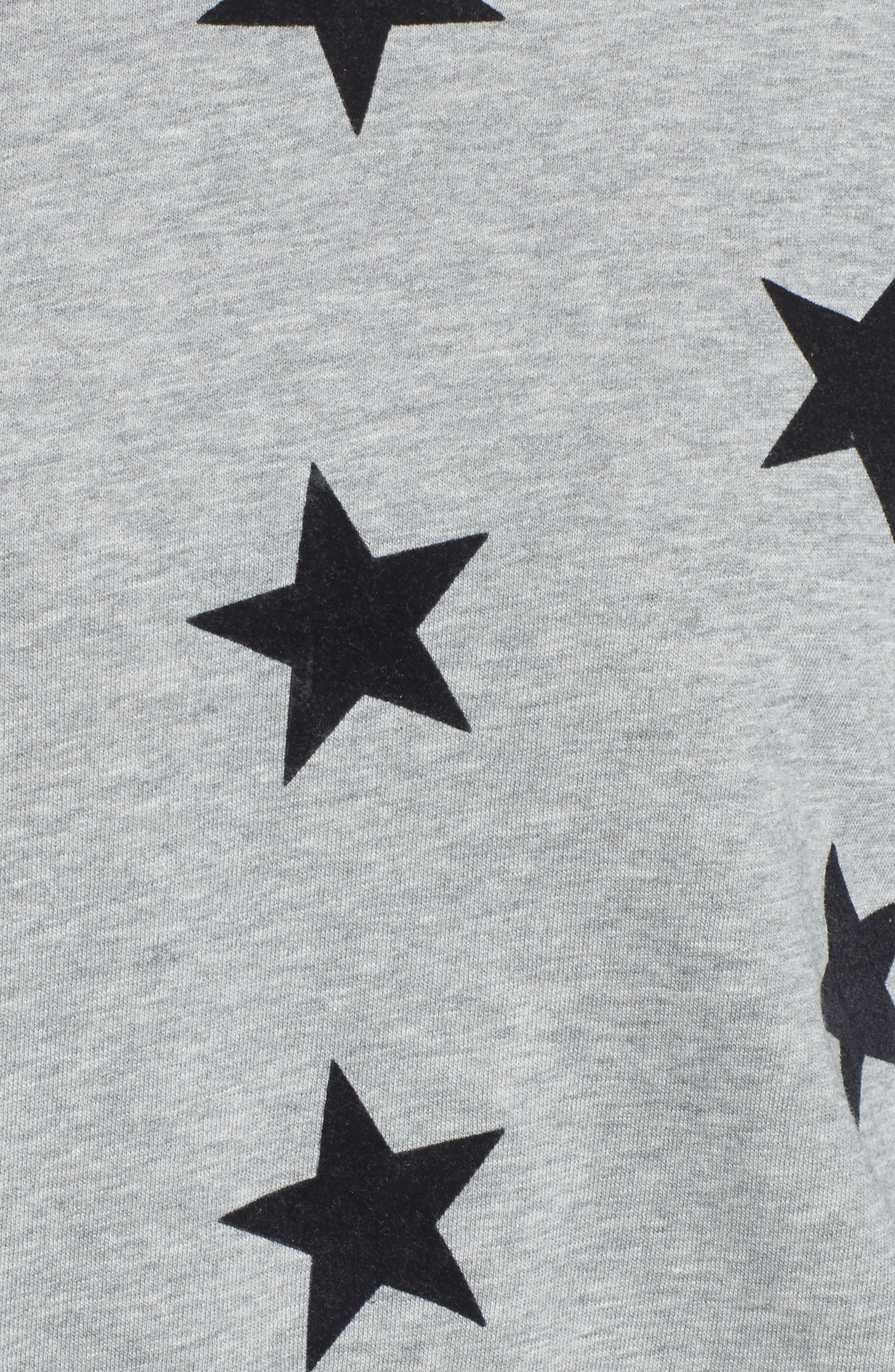 Alexa - Super Stars Sweatshirt,                             Alternate thumbnail 5, color,                             GREY