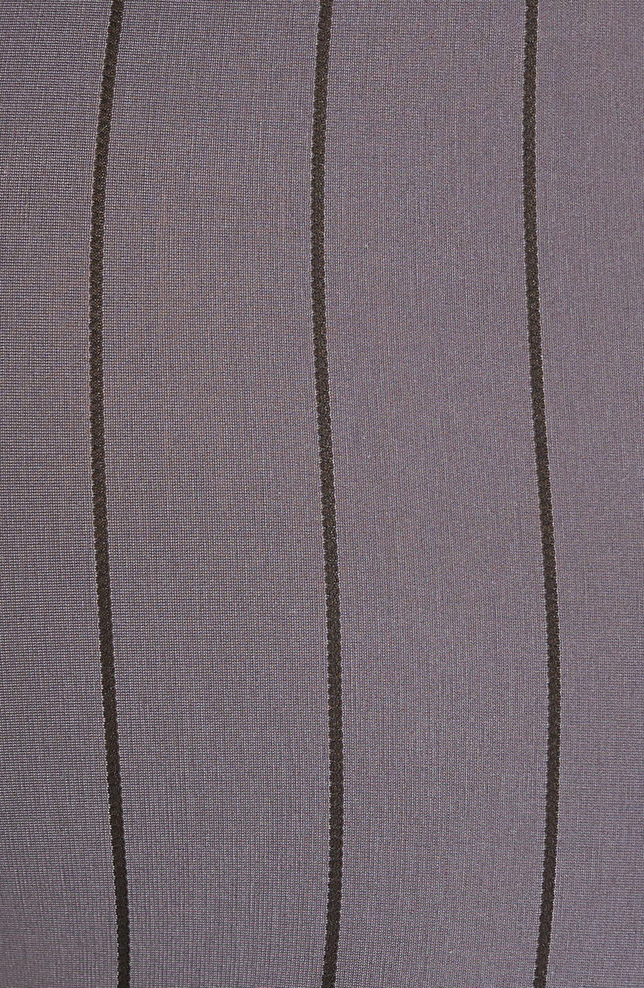 Shadow Cotton Blend Boxer Briefs,                             Alternate thumbnail 5, color,                             EBONY