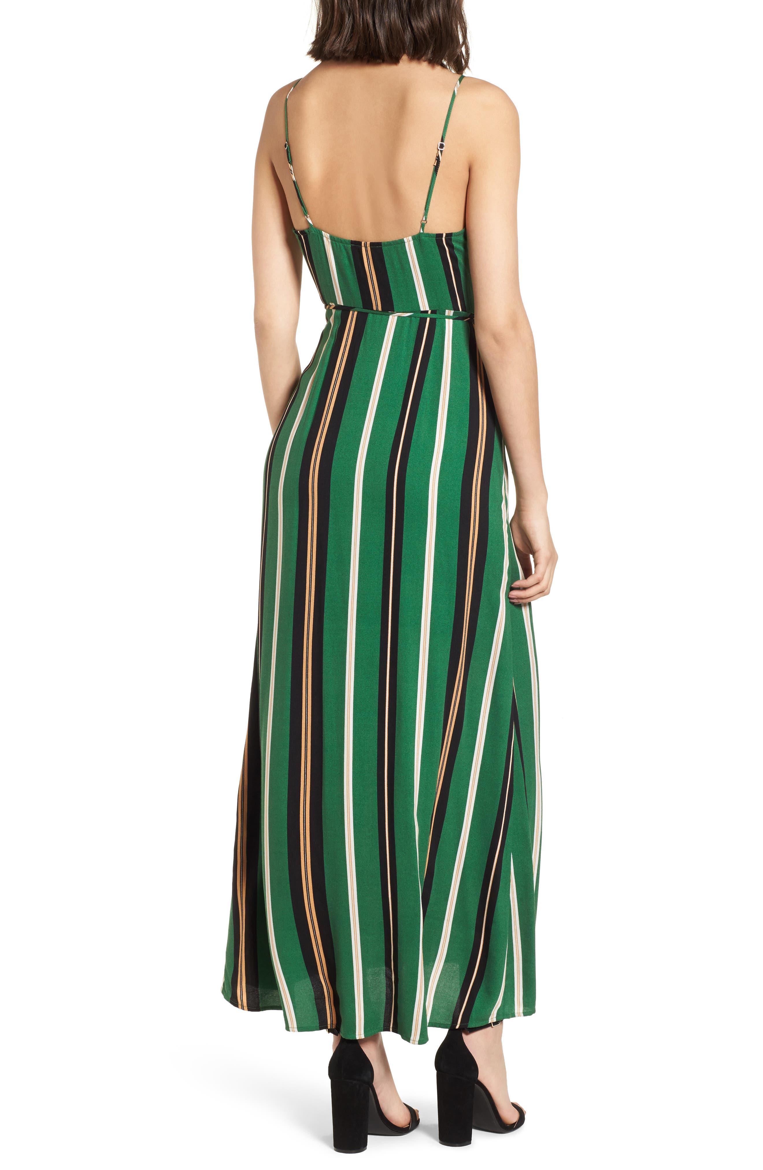 Cutout Wrap Front Maxi Dress,                             Alternate thumbnail 2, color,                             300