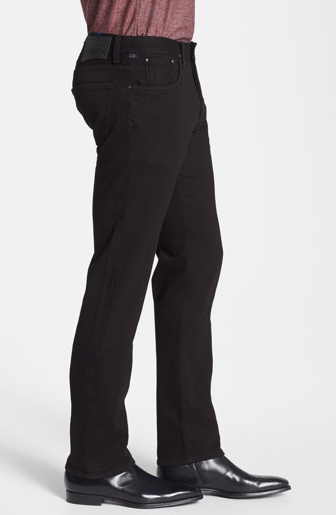 'Core' Slim Straight Fit Jeans,                             Alternate thumbnail 2, color,                             MIDNIGHT