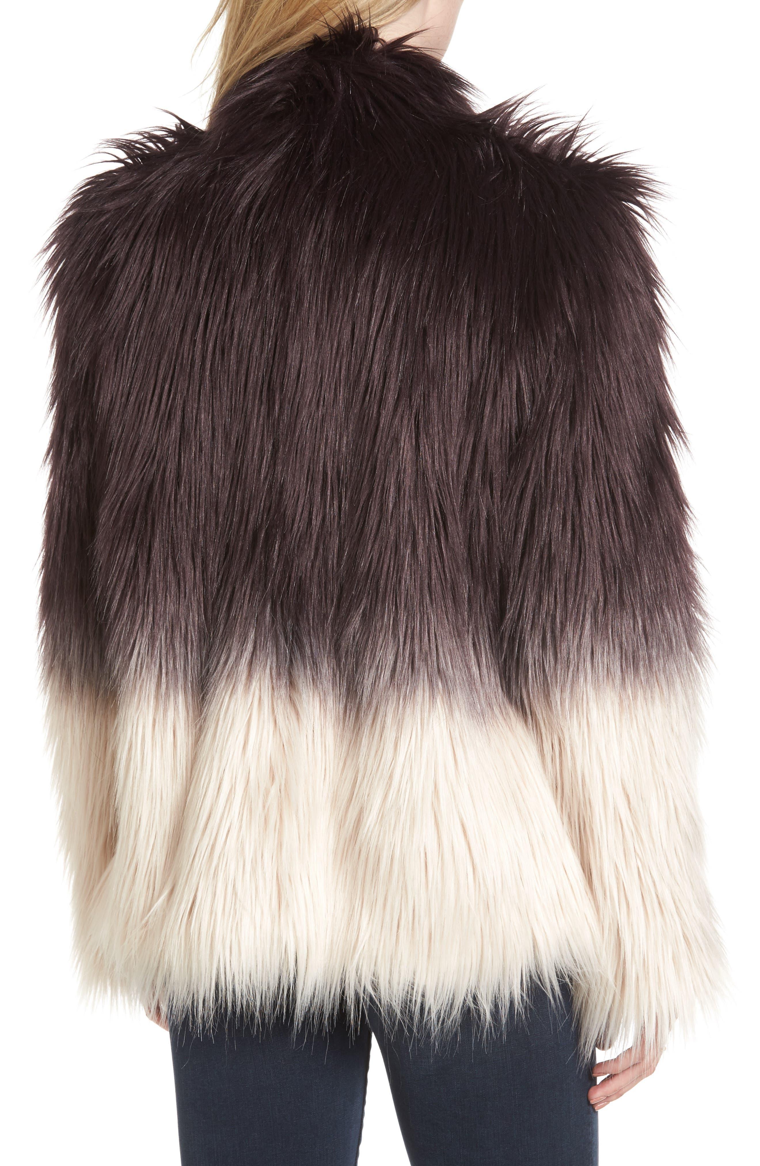 Faux Fur Jacket,                             Alternate thumbnail 2, color,                             501