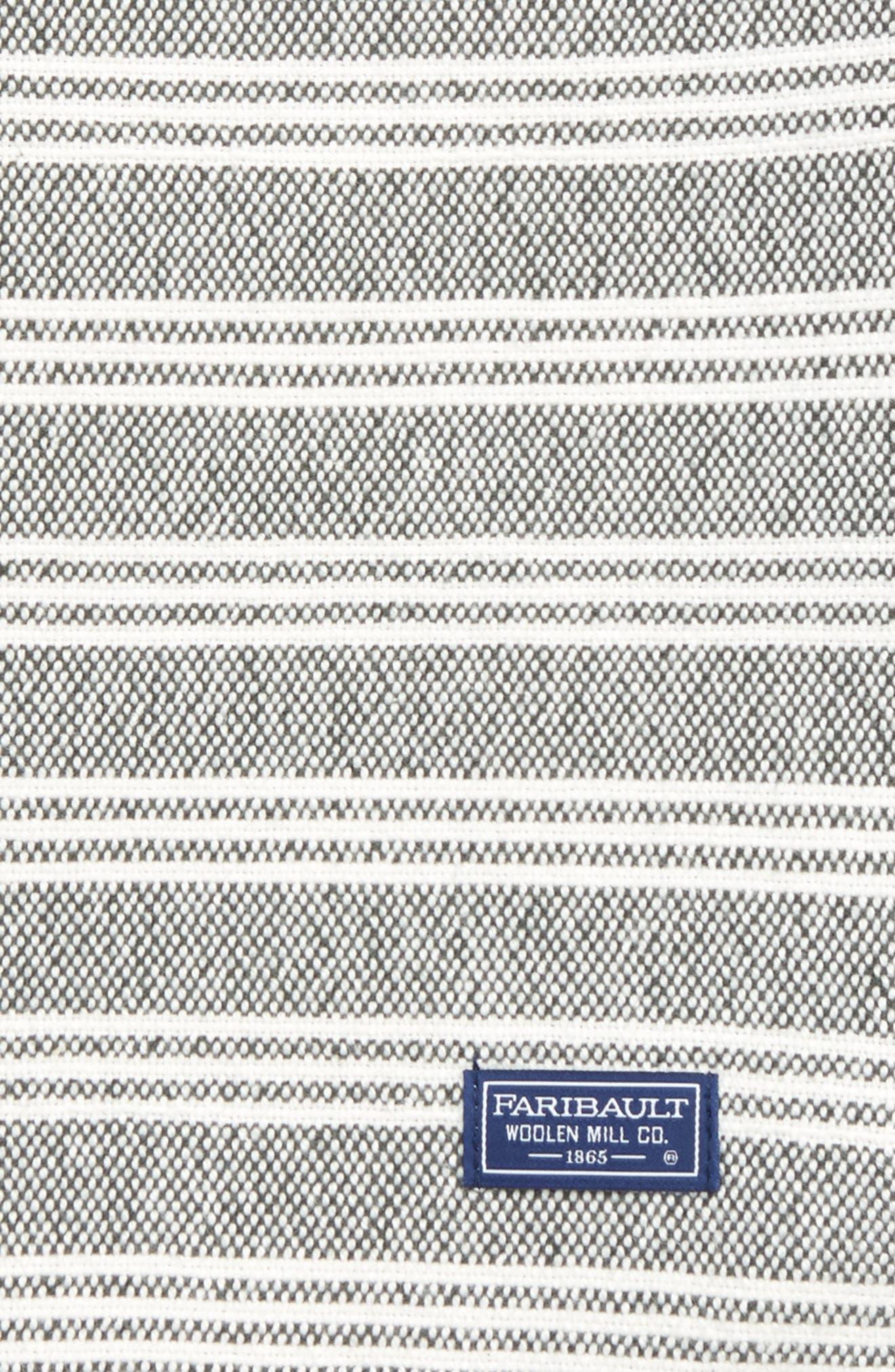 Stripe Throw Blanket,                             Alternate thumbnail 2, color,                             020