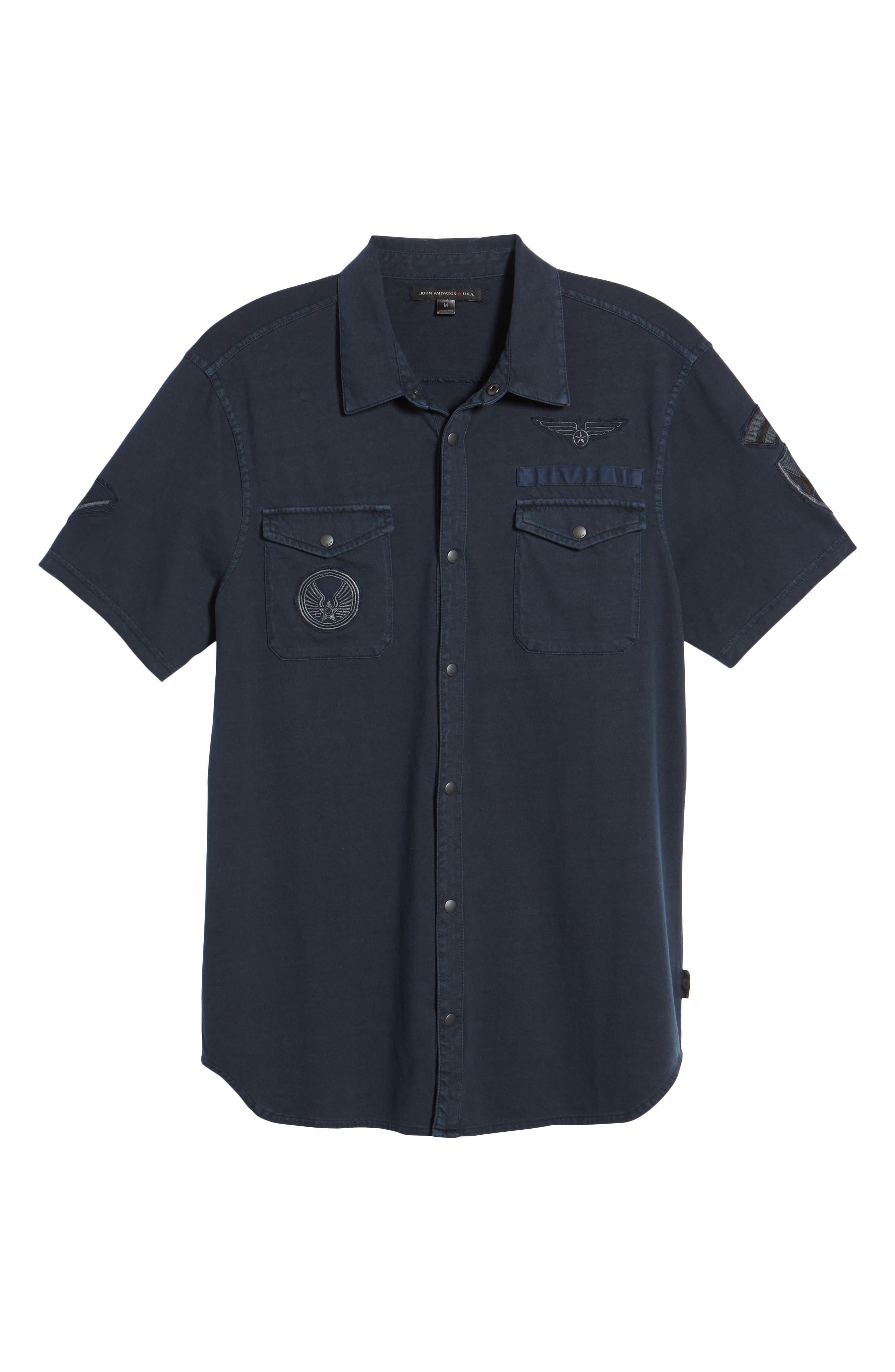 Extra Slim Fit Sport Shirt,                             Alternate thumbnail 6, color,                             490