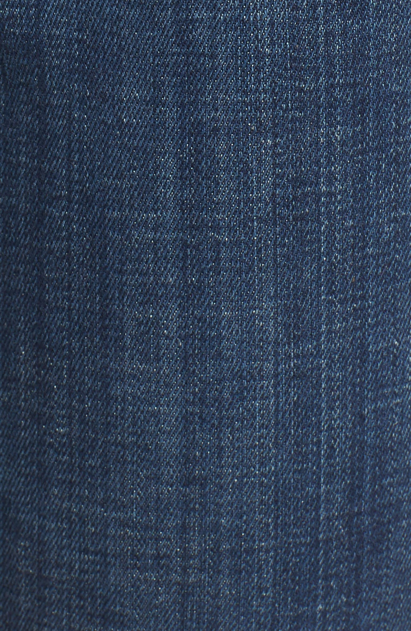 Halle Skinny Jeans,                             Alternate thumbnail 6, color,                             402