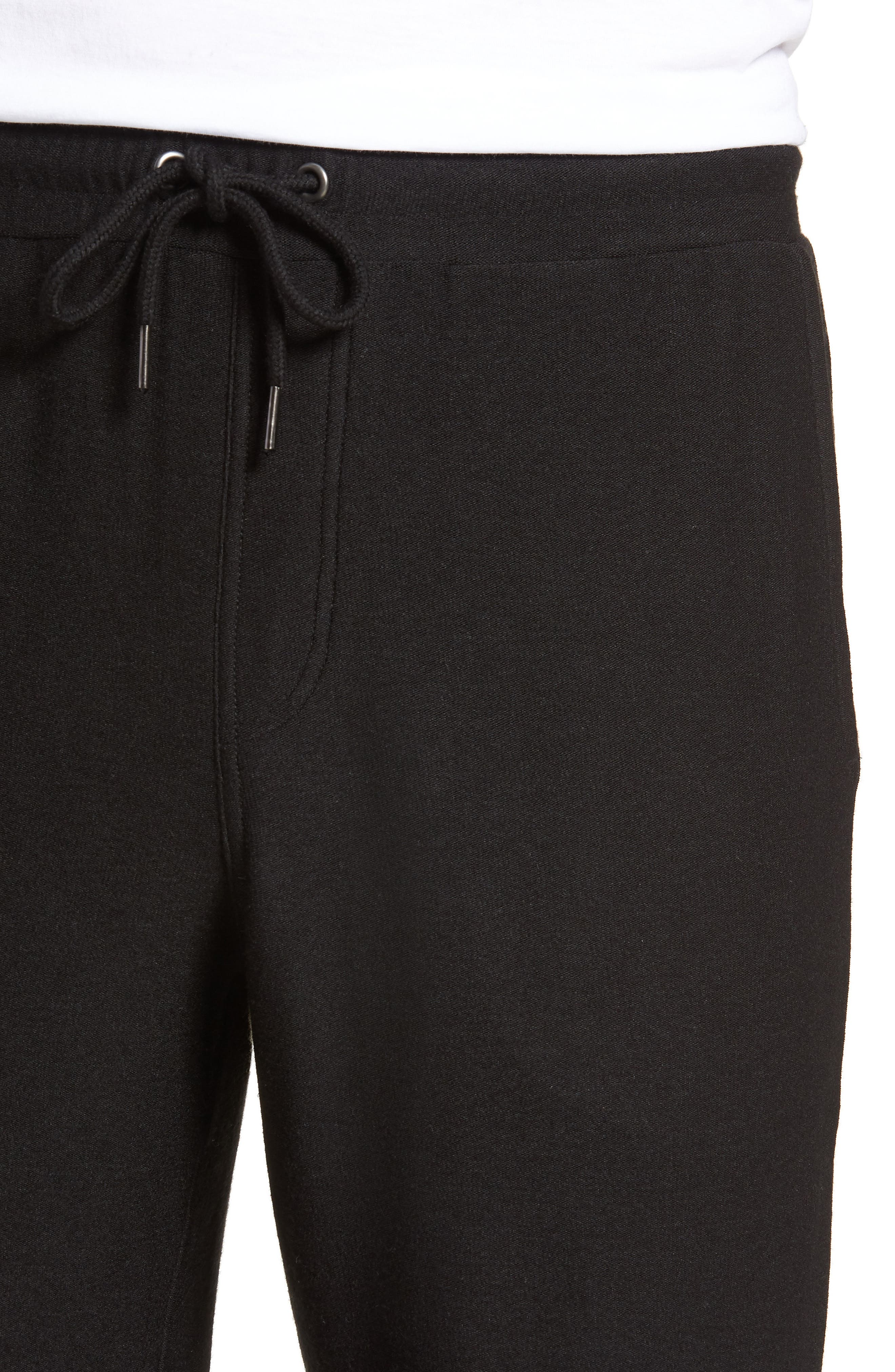 Lounge Shorts,                             Alternate thumbnail 4, color,                             BLACK