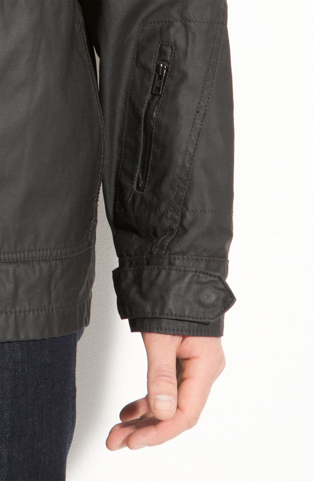 'Covert' Hooded Utility Jacket,                             Alternate thumbnail 2, color,                             001