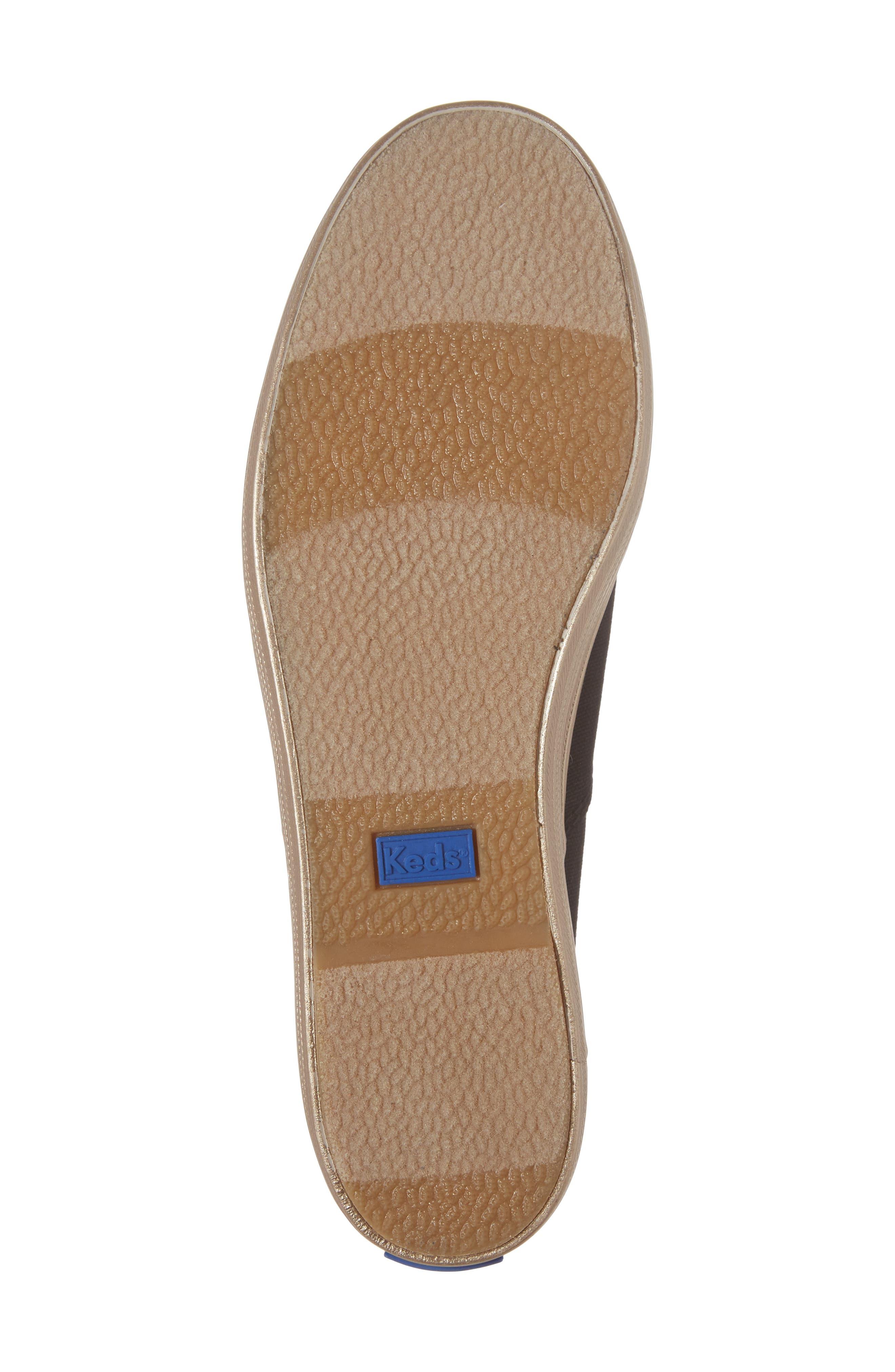 Triple Shimmer Platform Sneaker,                             Alternate thumbnail 6, color,                             002