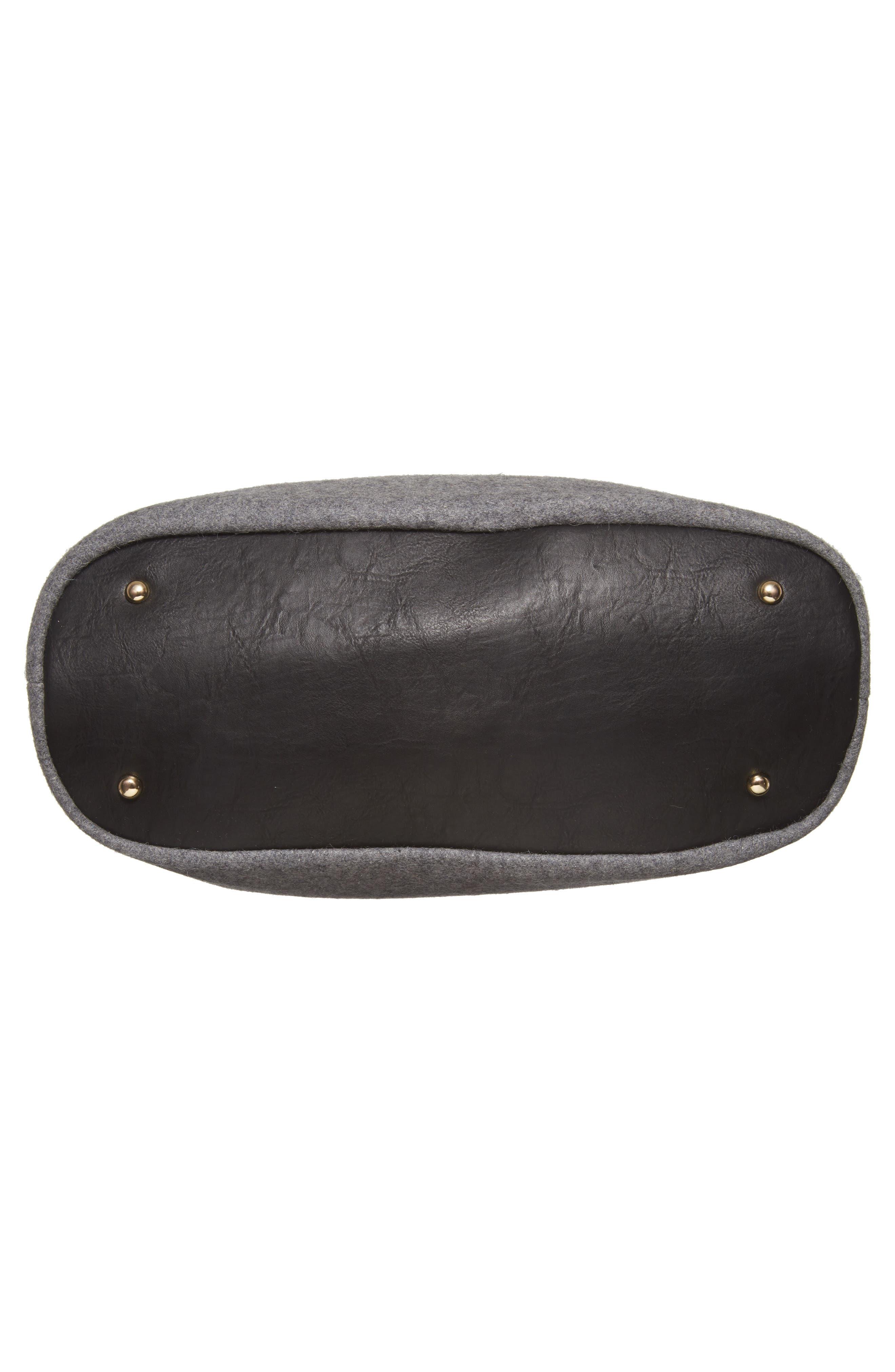 Chasity Duffel Bag,                             Alternate thumbnail 6, color,                             001
