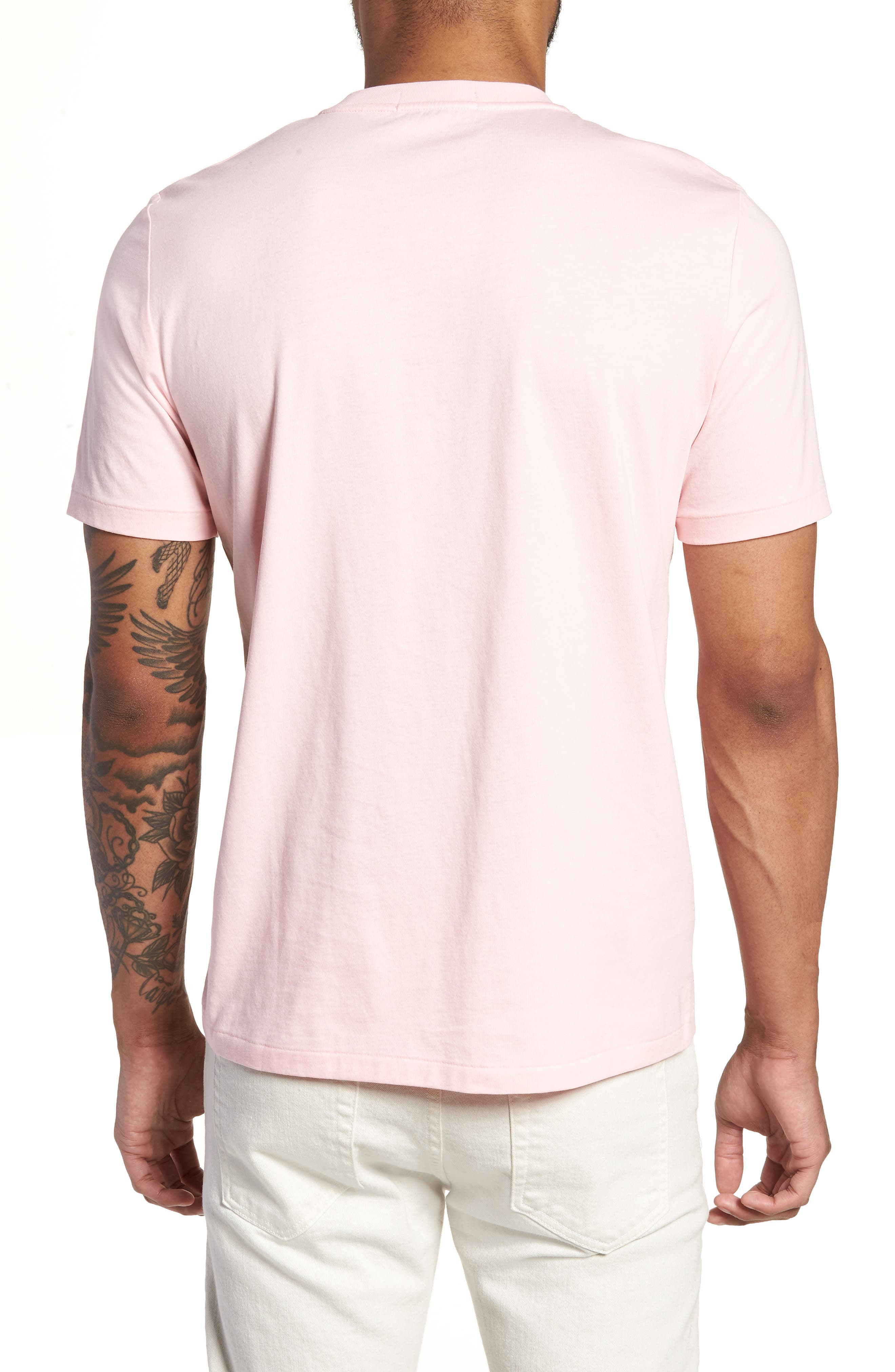Embroidered T-Shirt,                             Alternate thumbnail 5, color,
