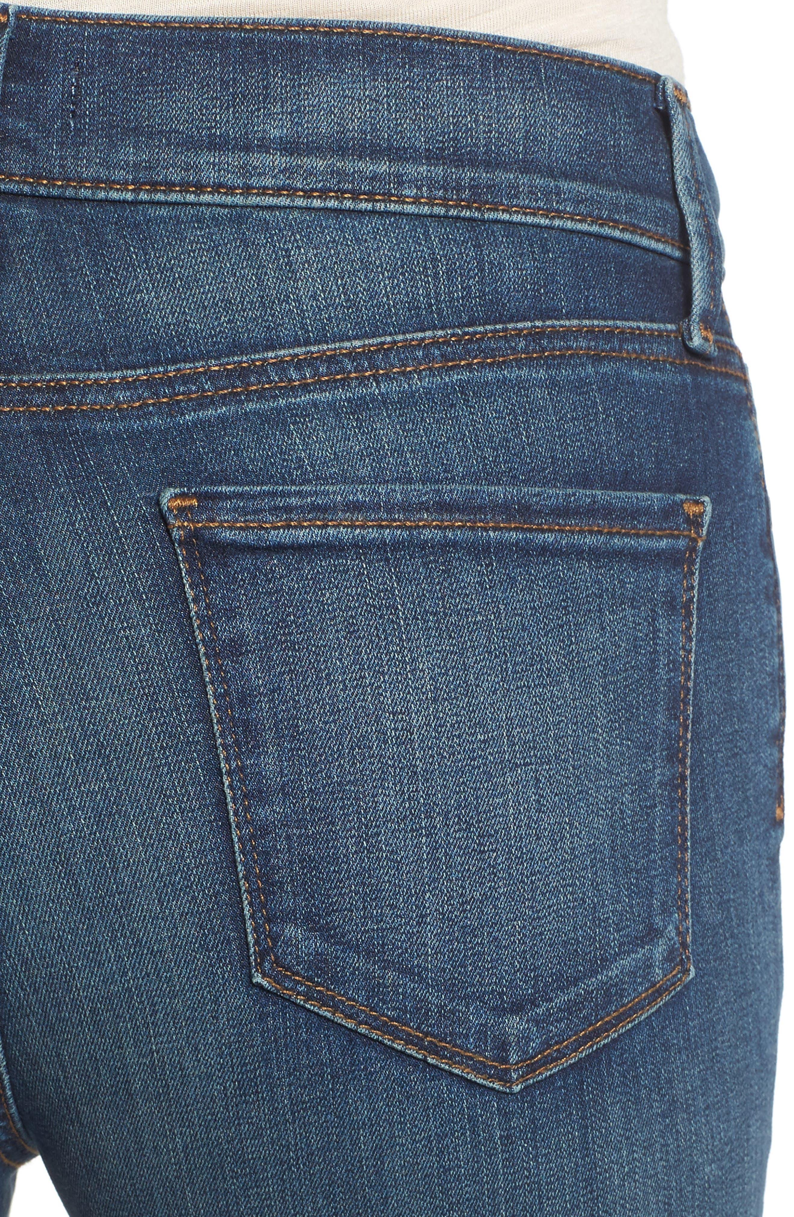 'Dayla' Colored Wide Cuff Capri Jeans,                             Alternate thumbnail 53, color,