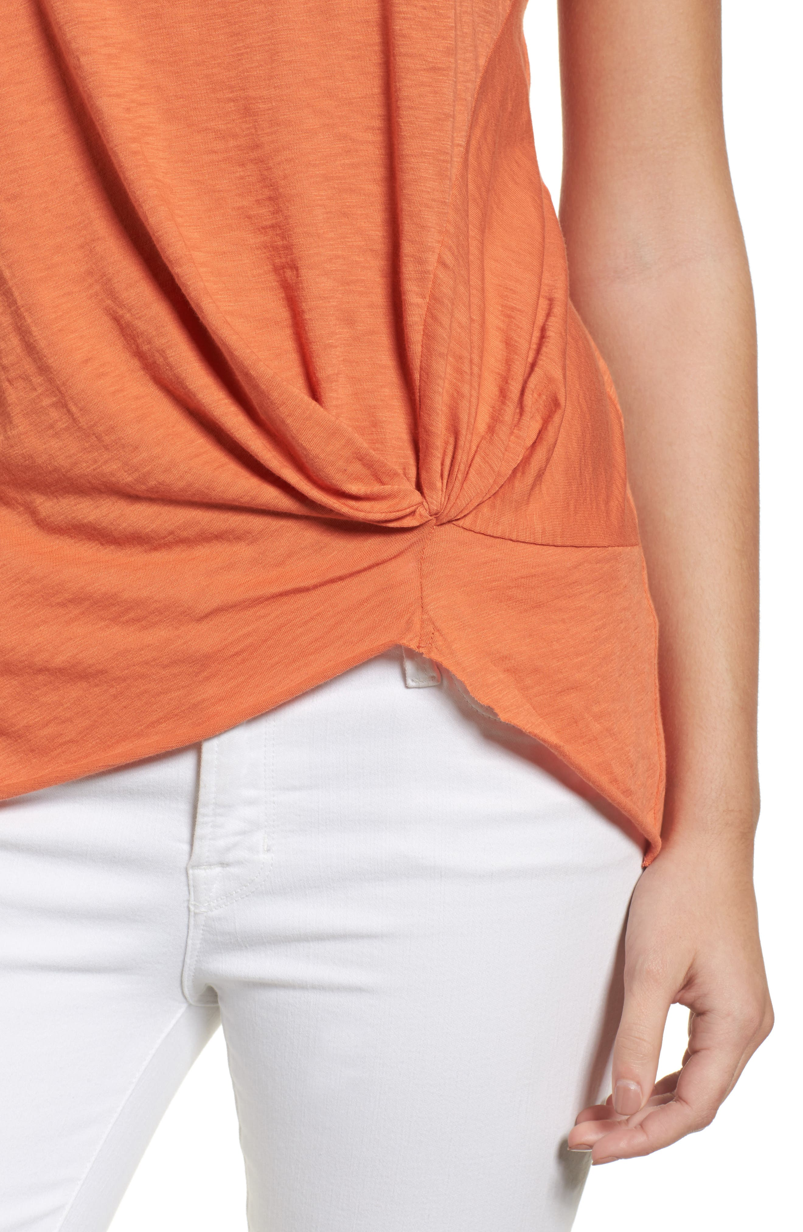 Knotted Tee,                             Alternate thumbnail 44, color,