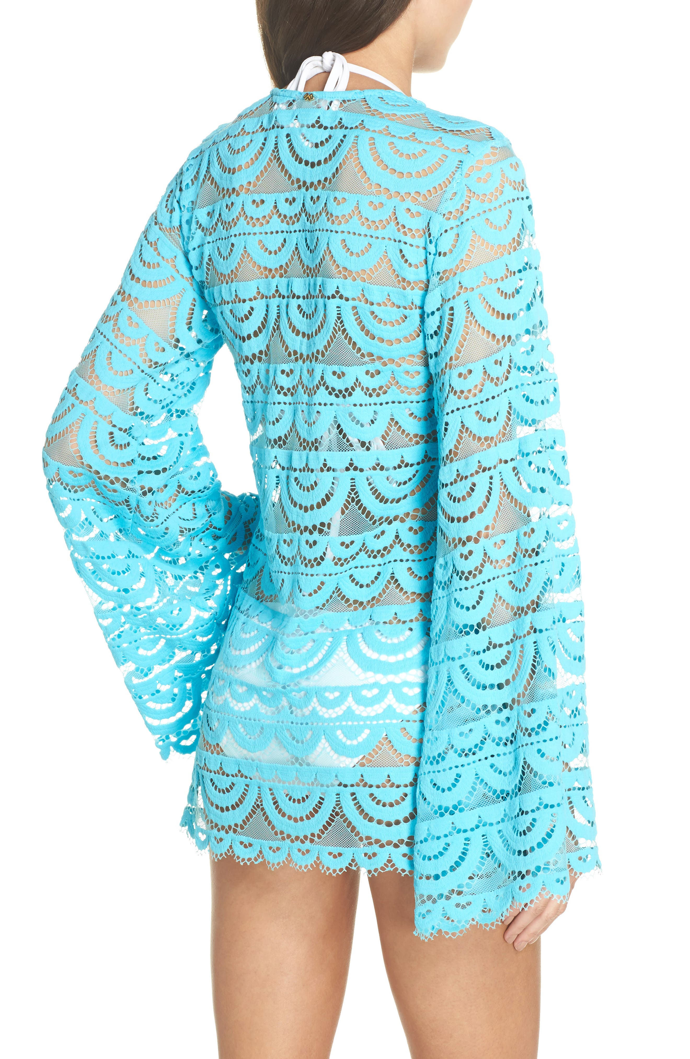Noah Lace Cover-Up Tunic,                             Alternate thumbnail 2, color,