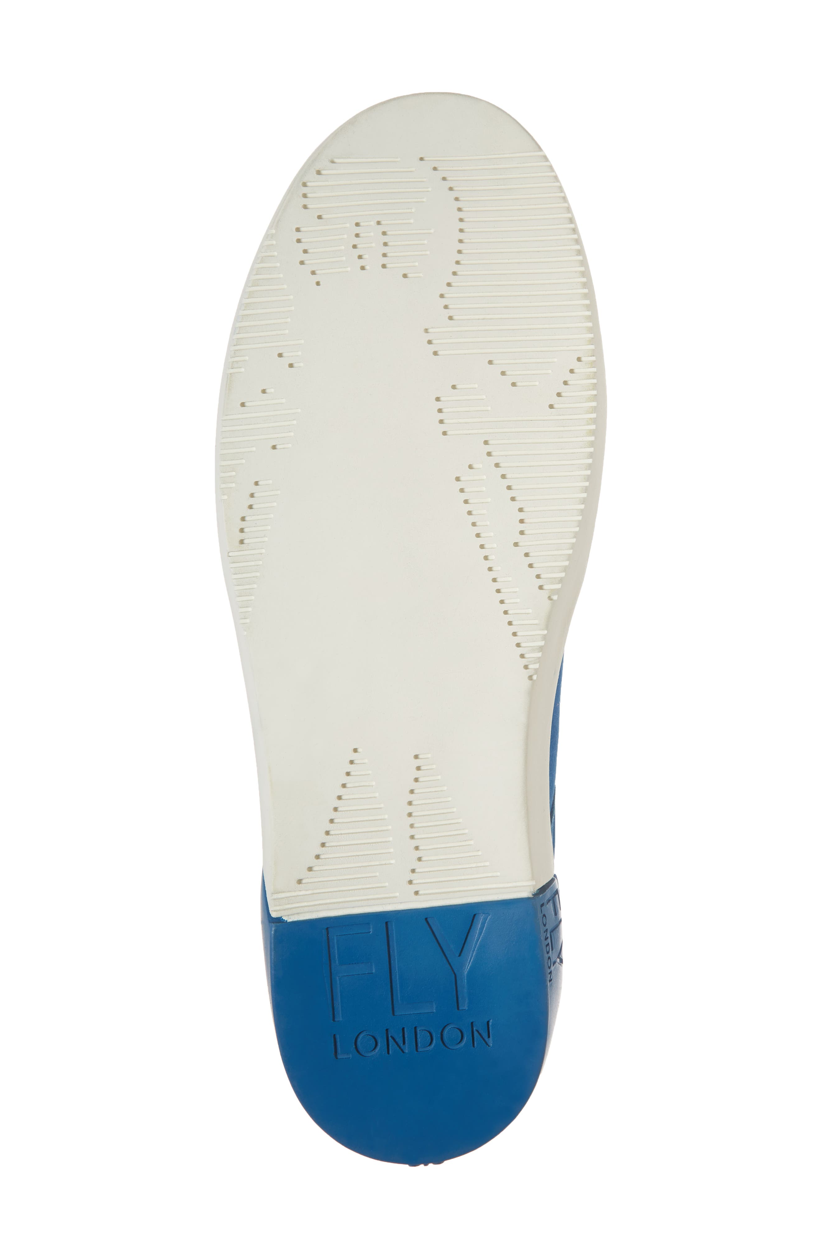 Sene Low Top Sneaker,                             Alternate thumbnail 6, color,                             ELECTRIC BLUE LEATHER