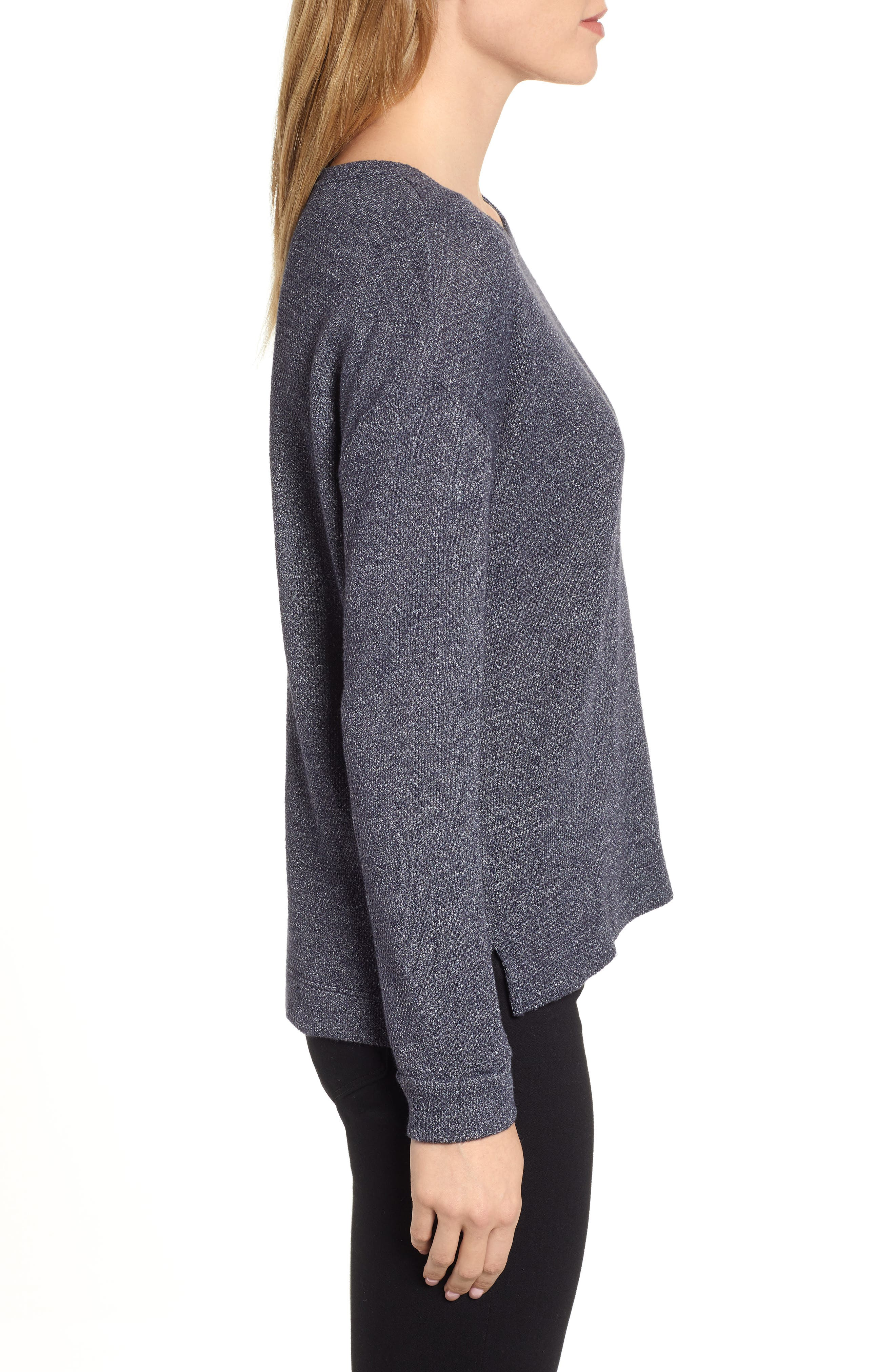Thermal Pullover,                             Alternate thumbnail 3, color,                             CADET