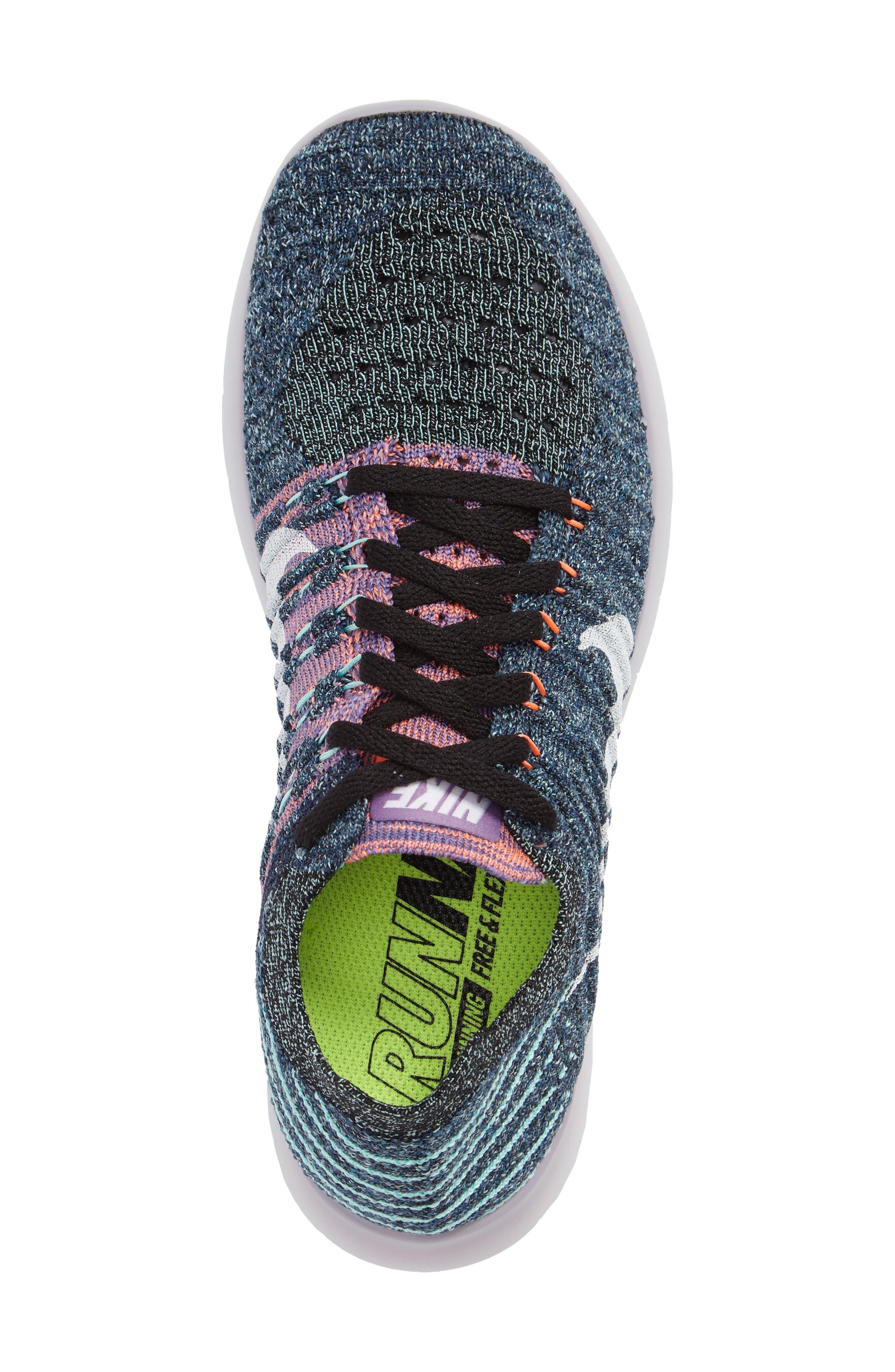'Free Flyknit' Running Shoe,                             Alternate thumbnail 50, color,