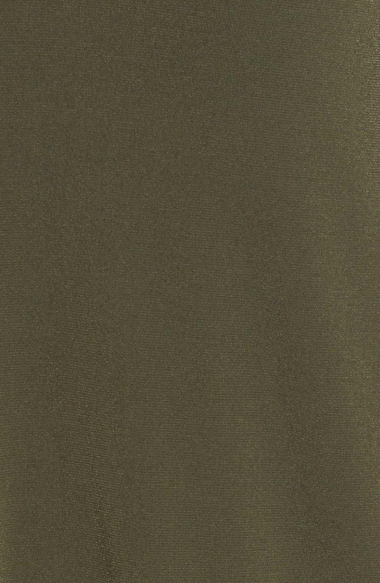 V-Neck A-Line Dress,                             Alternate thumbnail 14, color,