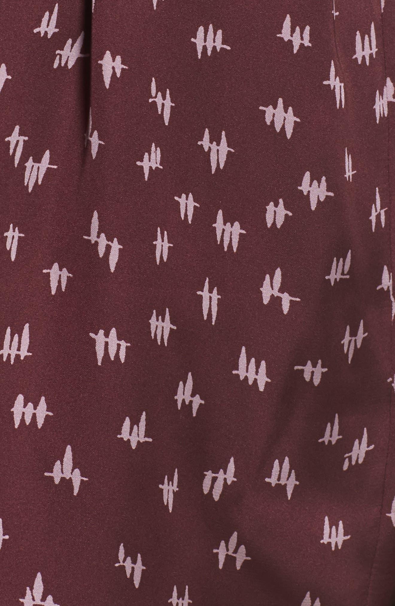 Wrap Satin Pajamas,                             Alternate thumbnail 4, color,                             930