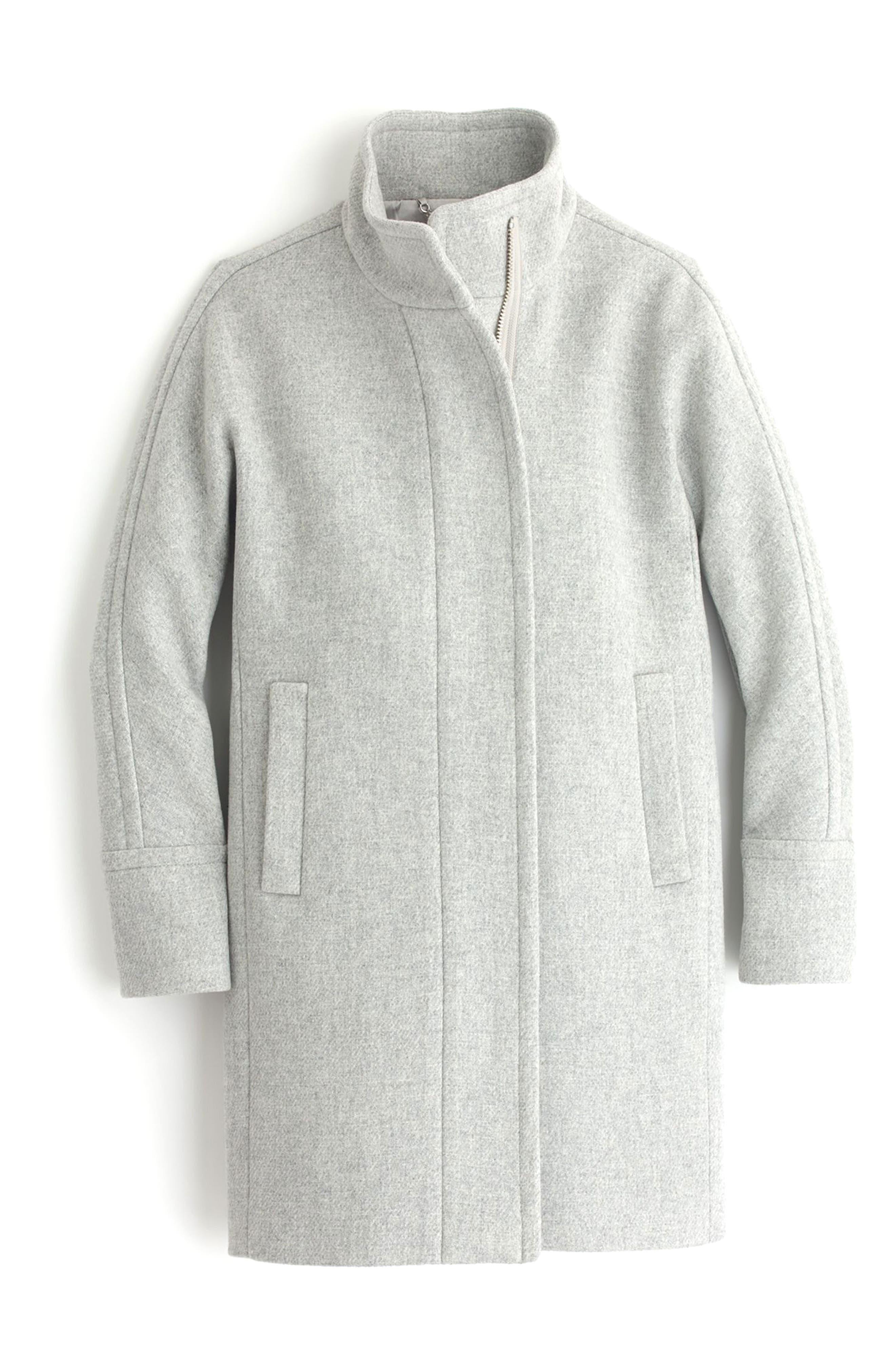 Stadium Cloth Cocoon Coat,                             Alternate thumbnail 27, color,