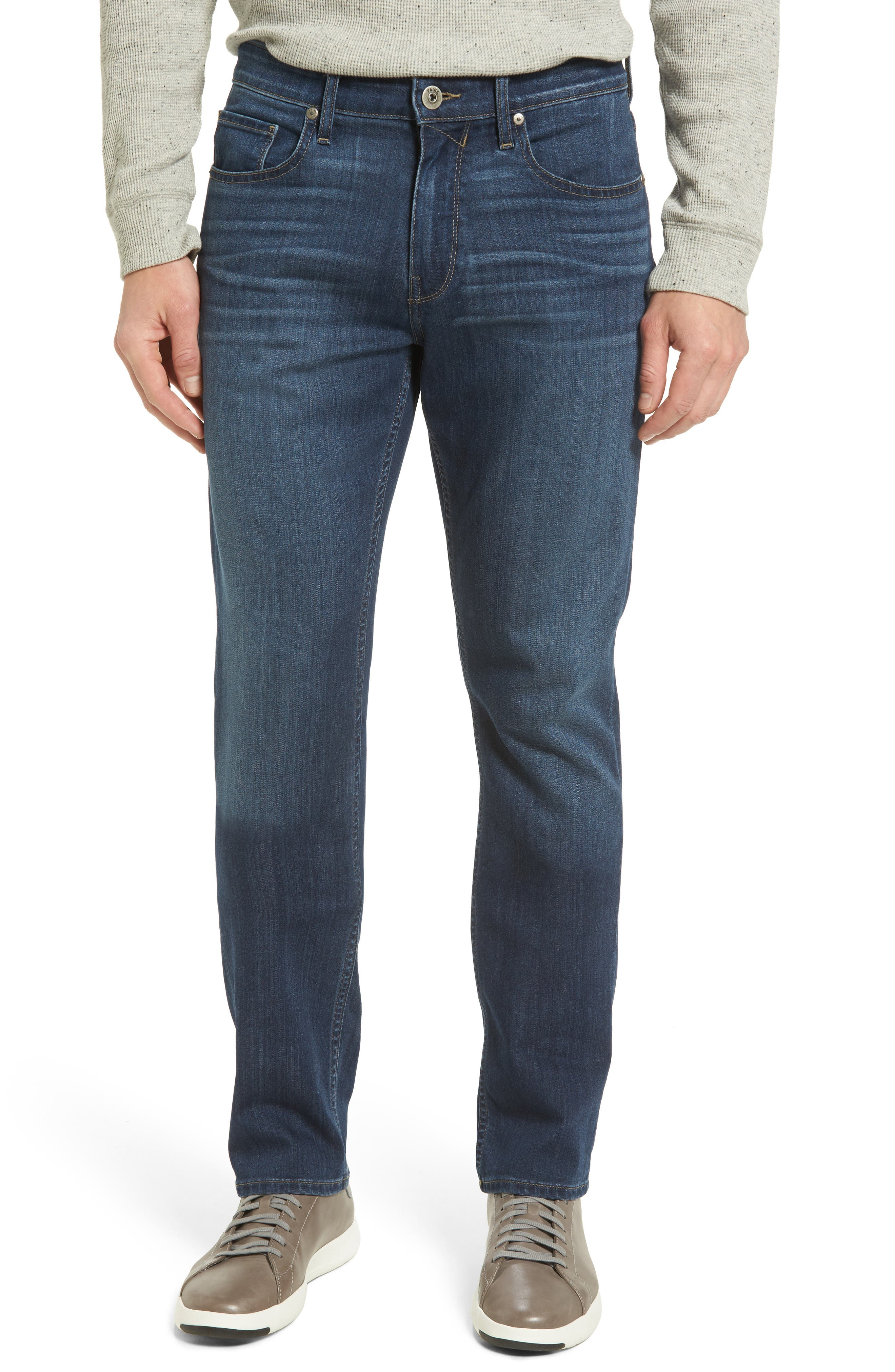 Transcend - Federal Slim Straight Leg Jeans,                         Main,                         color, 400