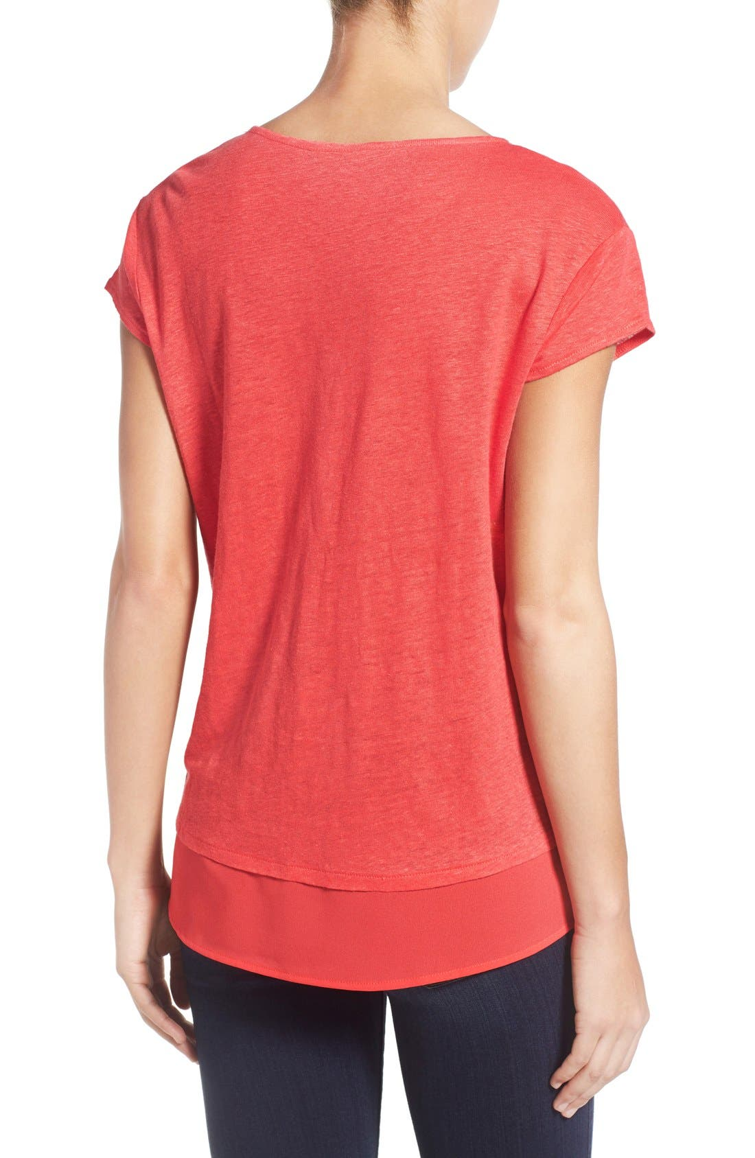 City Mix Layered Look Tee,                             Alternate thumbnail 41, color,