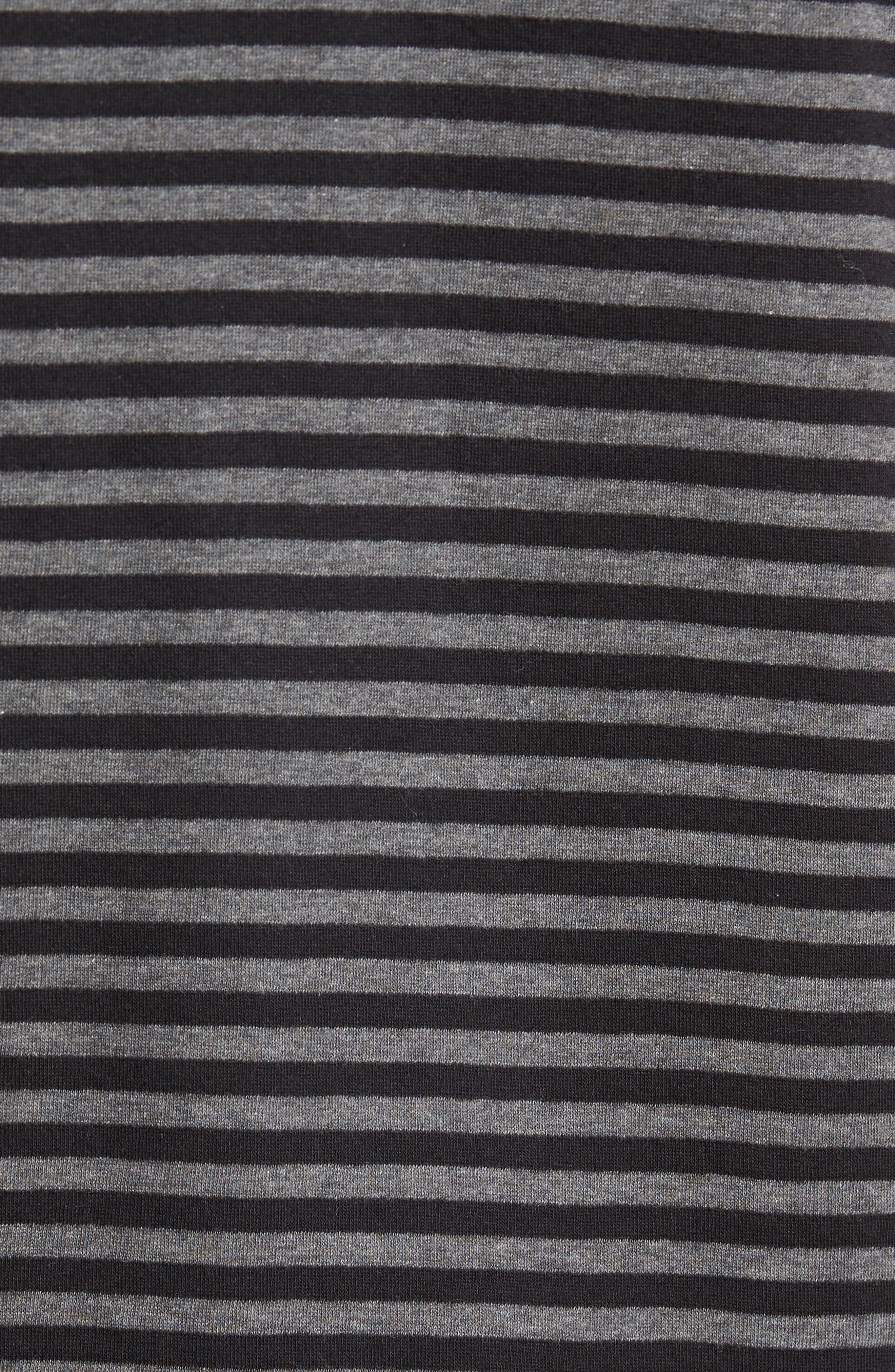 Alternative Stripe Short Sleeve Polo,                             Alternate thumbnail 5, color,                             020