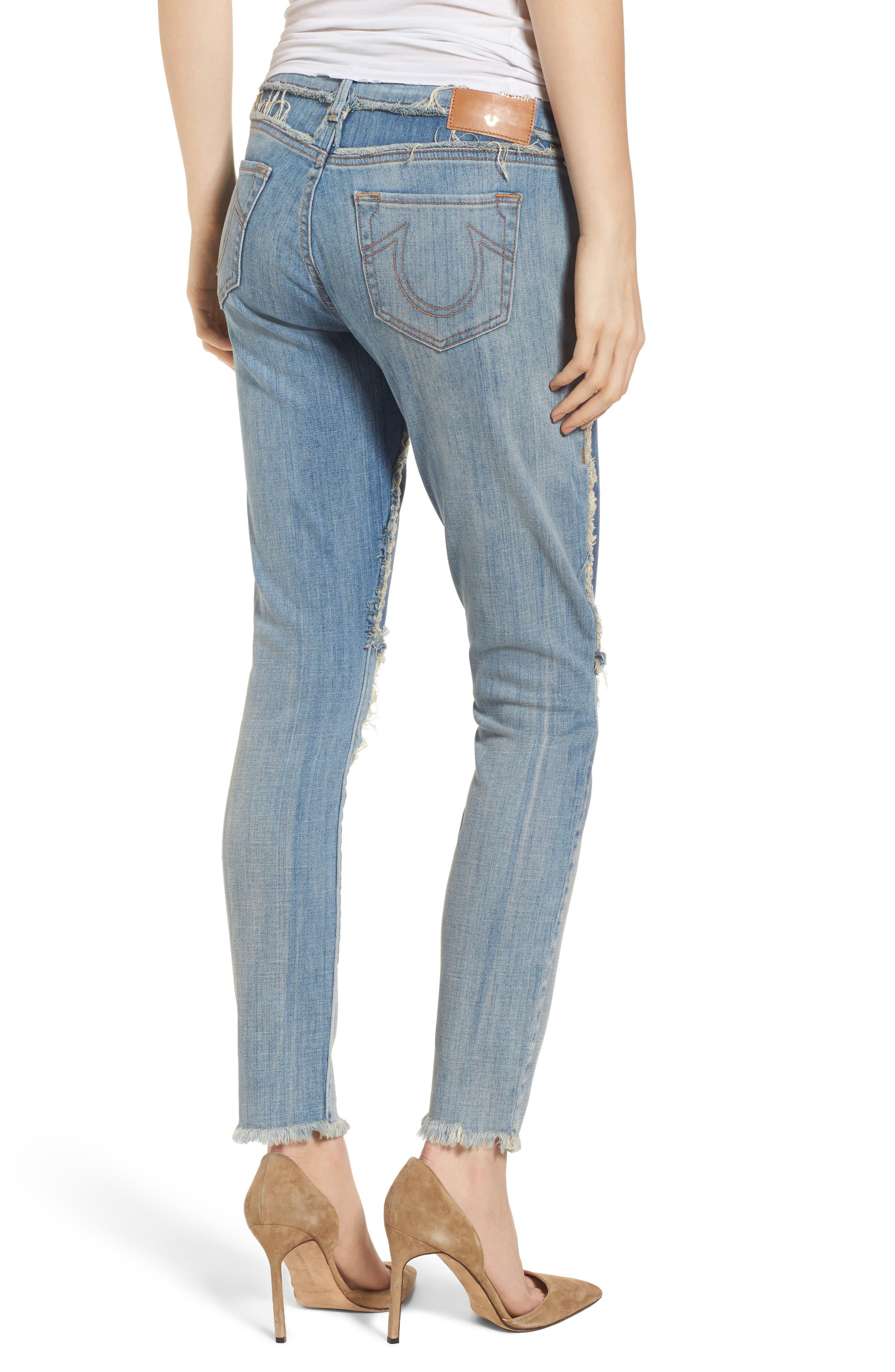 Halle Super Skinny Jeans,                             Alternate thumbnail 2, color,                             401