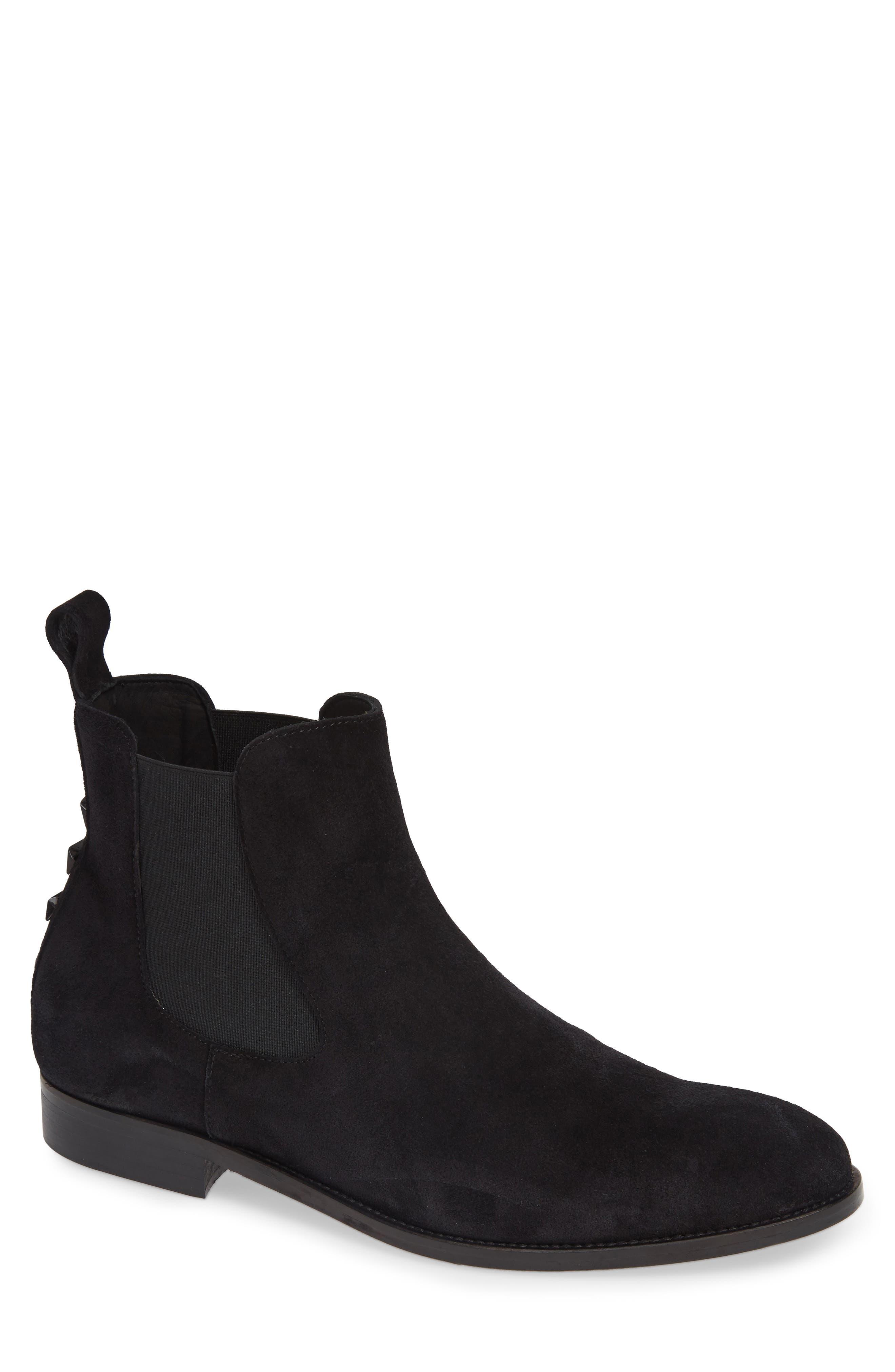 Como Chelsea Boot,                         Main,                         color, BLACK