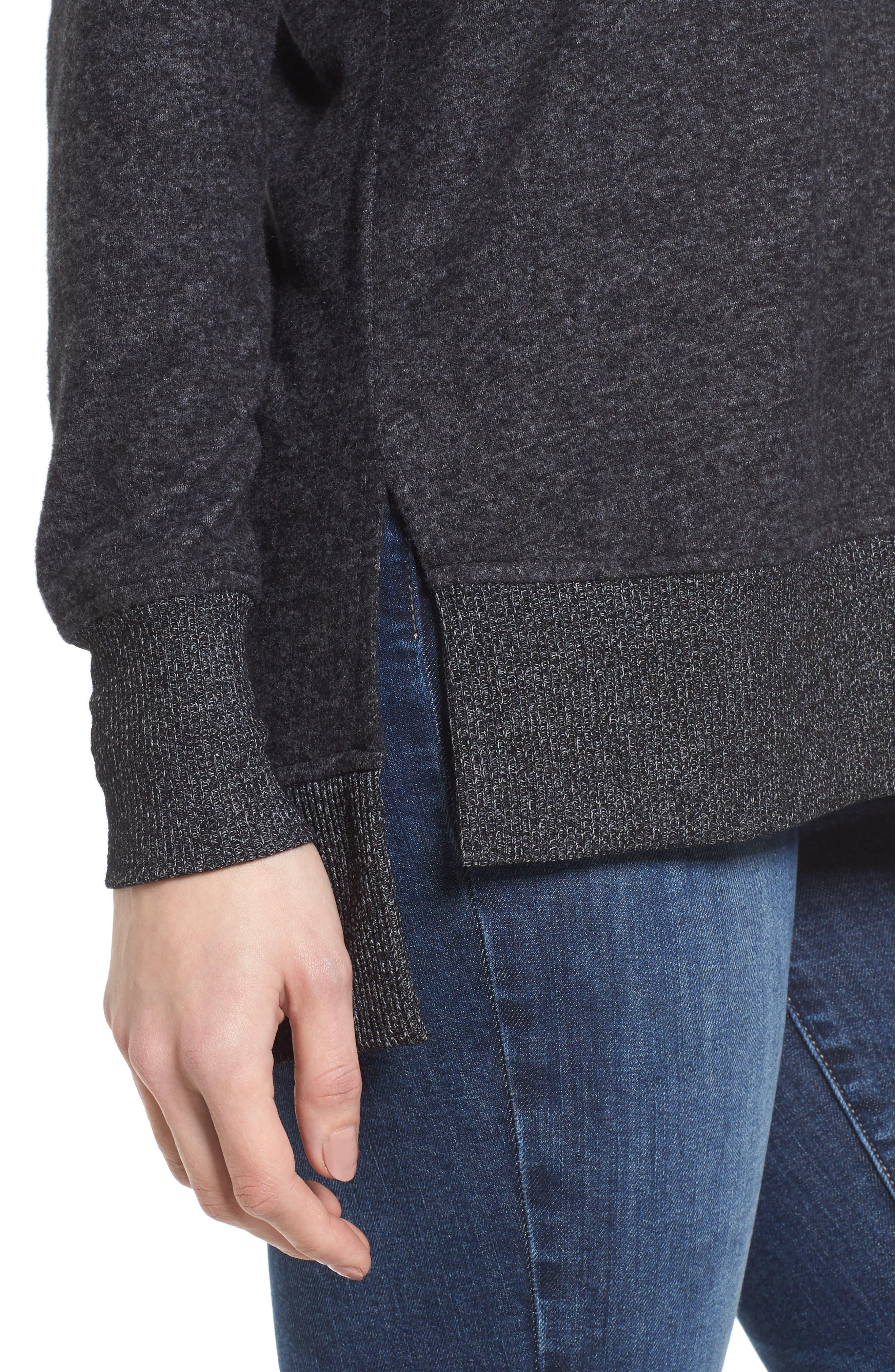 Cozy Sweatshirt,                             Alternate thumbnail 4, color,                             008